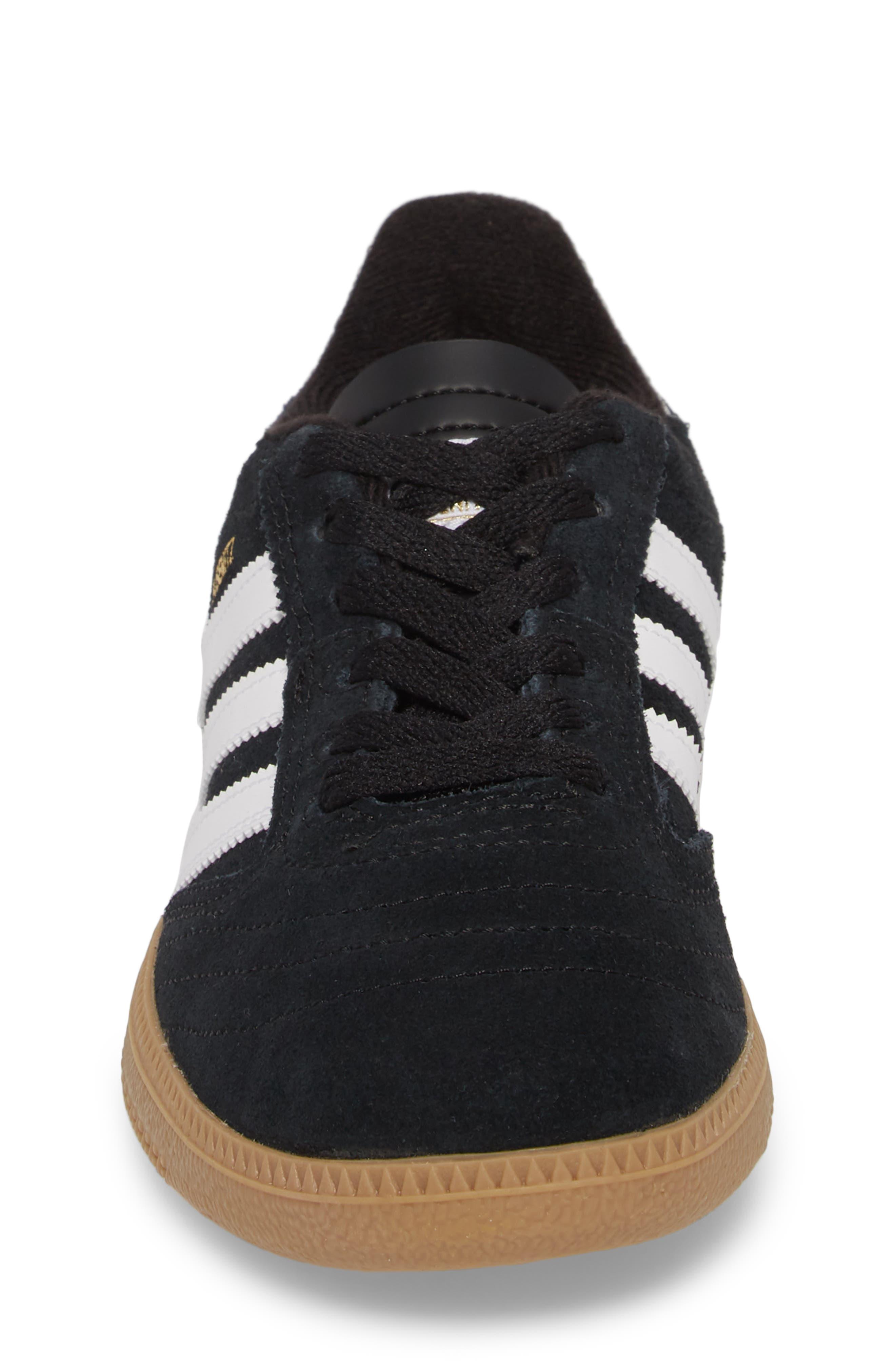 Busenitz Skateboarding Sneaker,                             Alternate thumbnail 5, color,                             Black/ White/ Gold