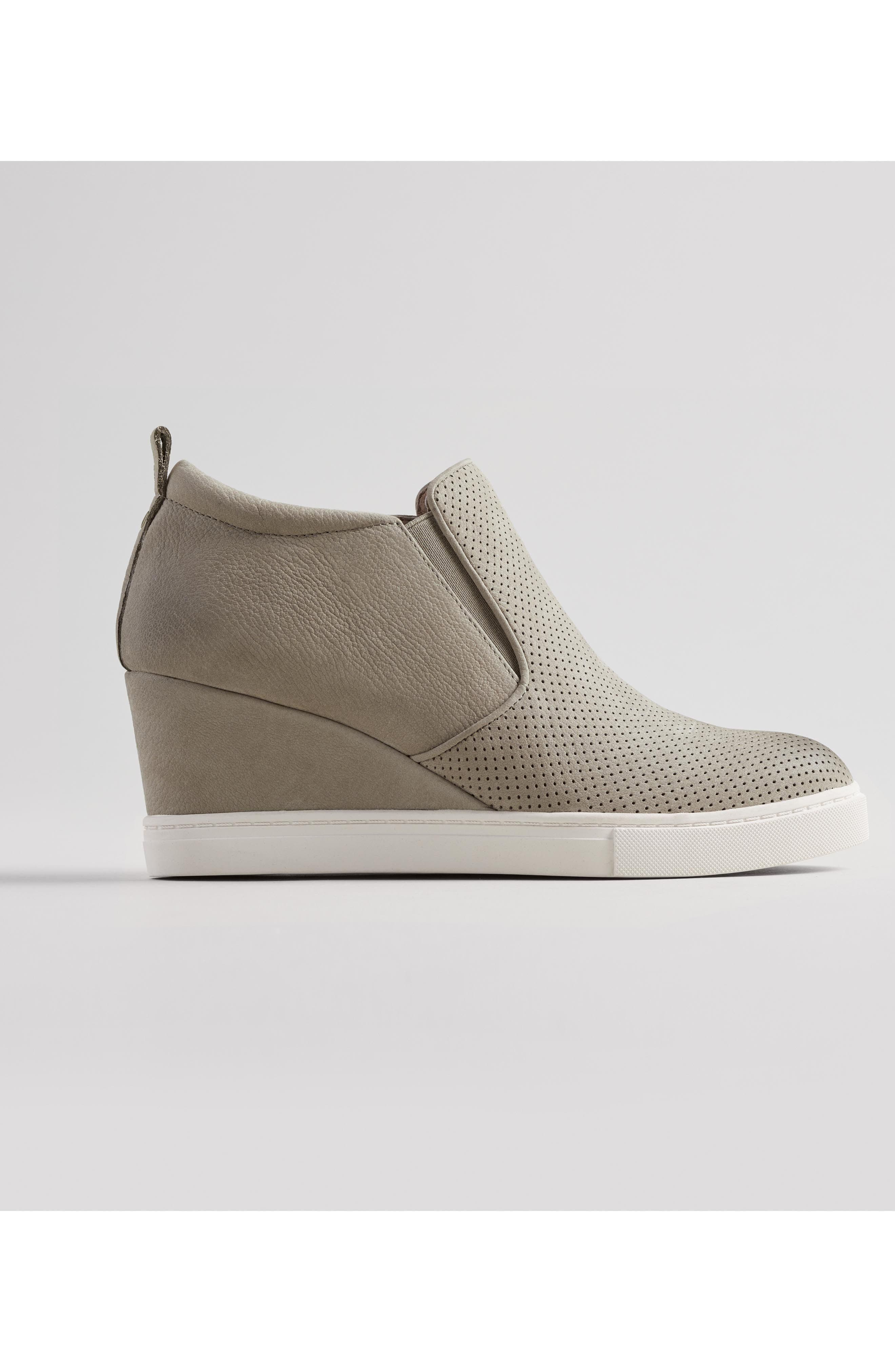 Aiden Wedge Sneaker,                             Alternate thumbnail 7, color,
