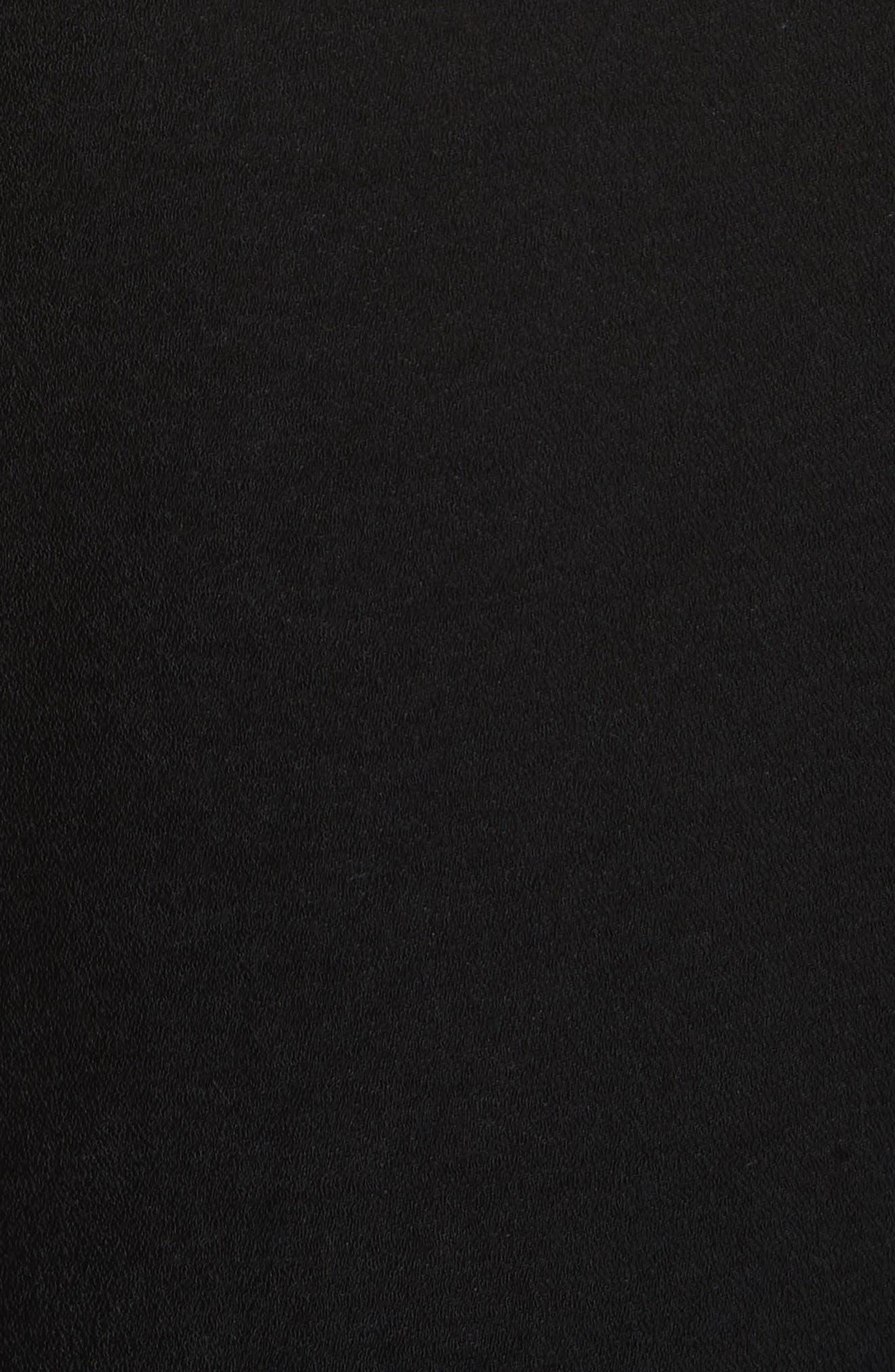 The Carmen Flare Pants,                             Alternate thumbnail 5, color,                             Black
