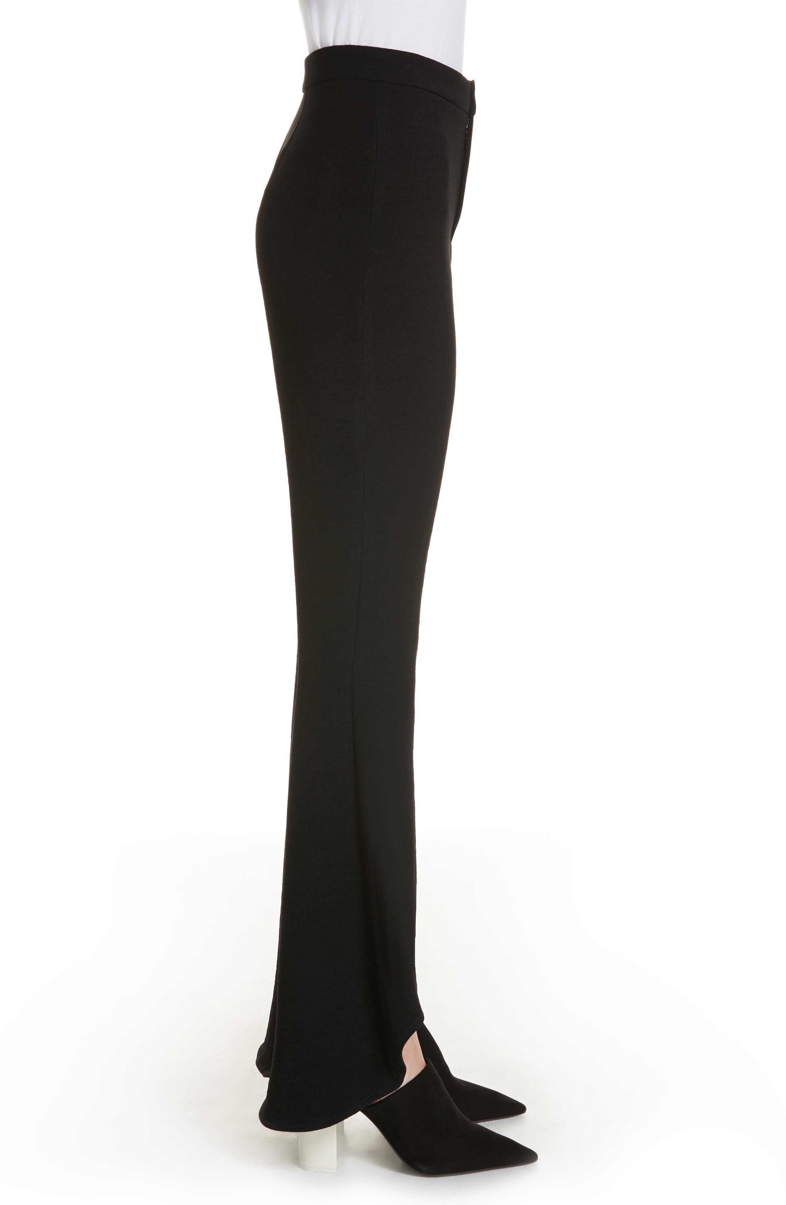 The Carmen Flare Pants,                             Alternate thumbnail 3, color,                             Black