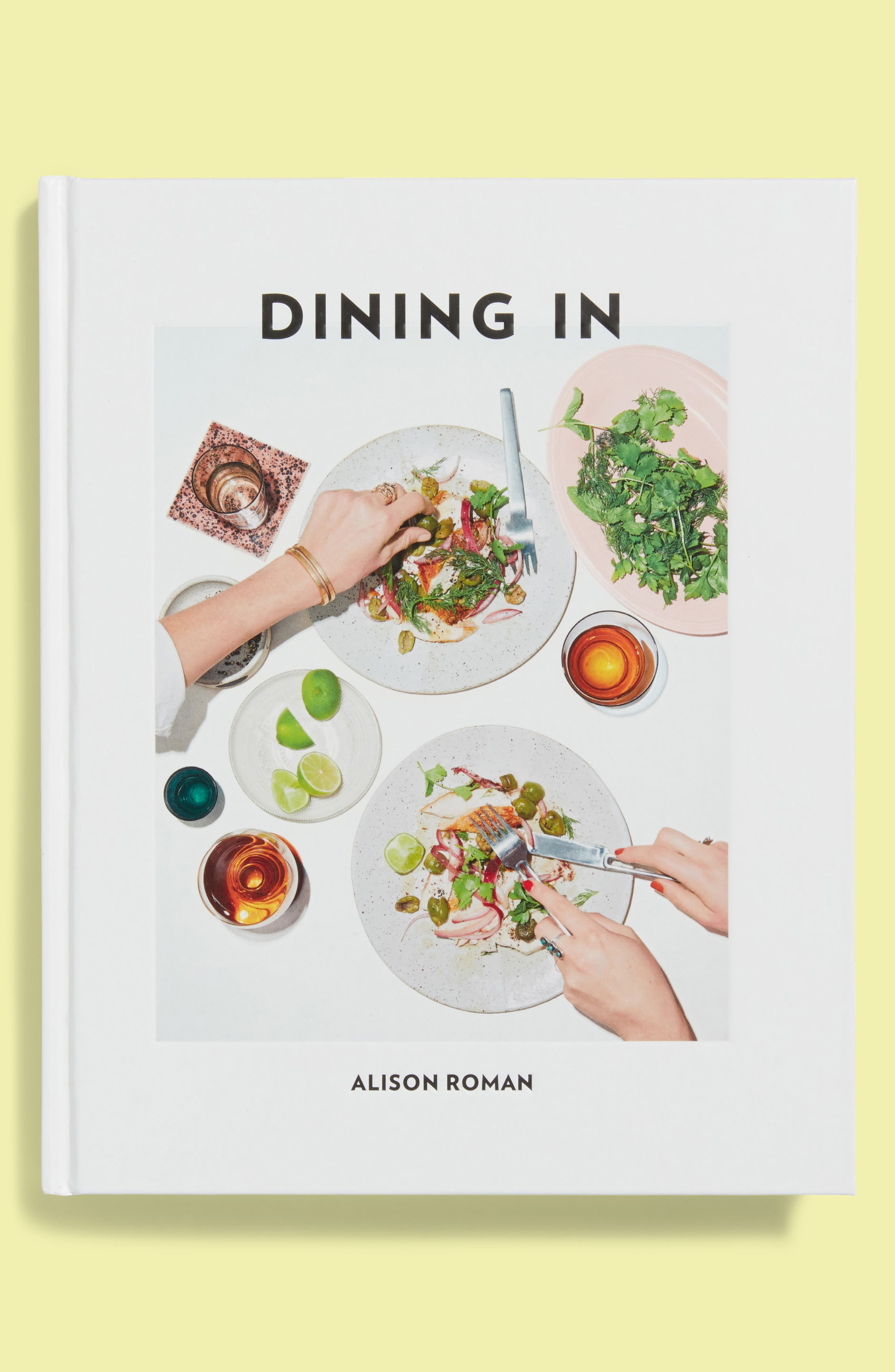 Dining In Cookbook,                             Main thumbnail 1, color,                             Multi
