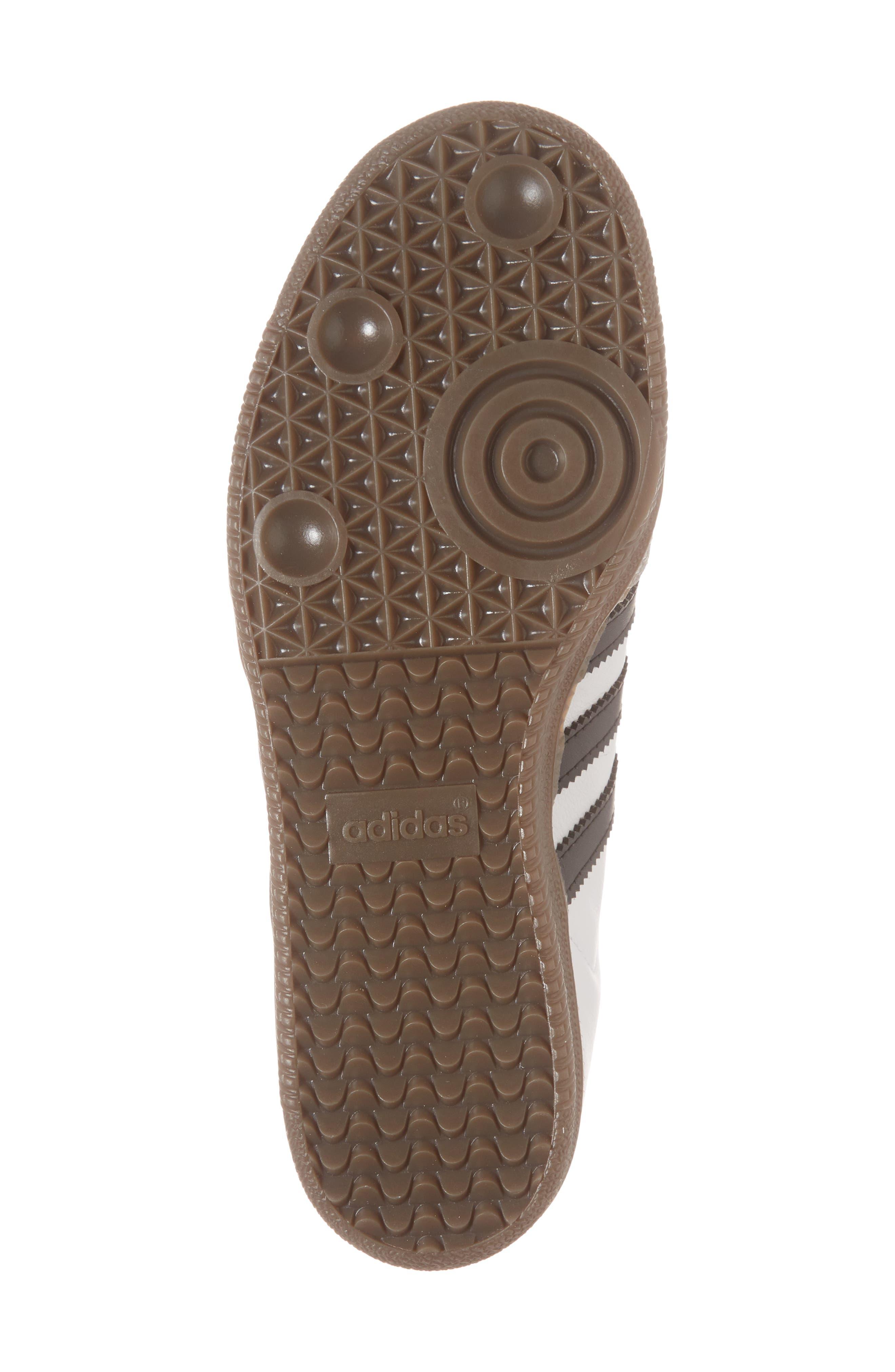 'Samba' Sneaker,                             Alternate thumbnail 4, color,                             White/ Black/ Clear Granite