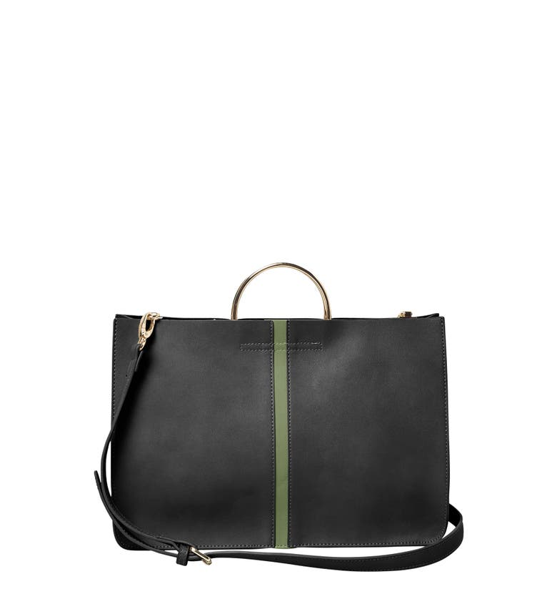 Urban Originals LOVE AFFAIR VEGAN LEATHER TOTE - BLACK