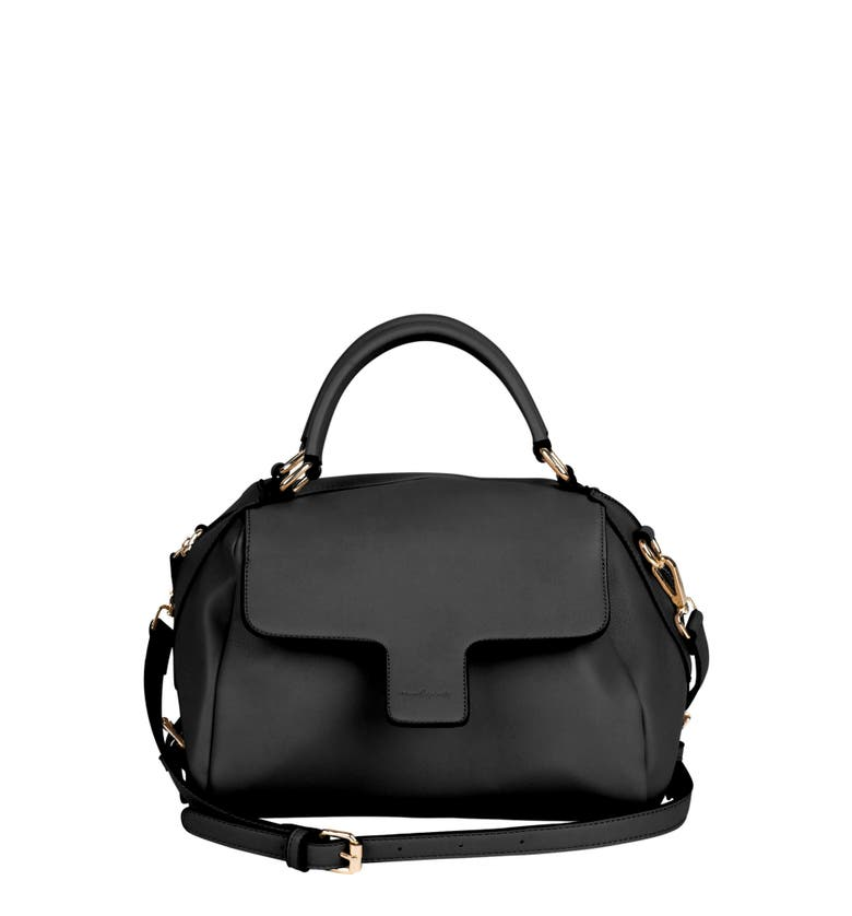 Urban Originals TWILIGHT VEGAN LEATHER CONVERTIBLE TOTE BAG - BLACK
