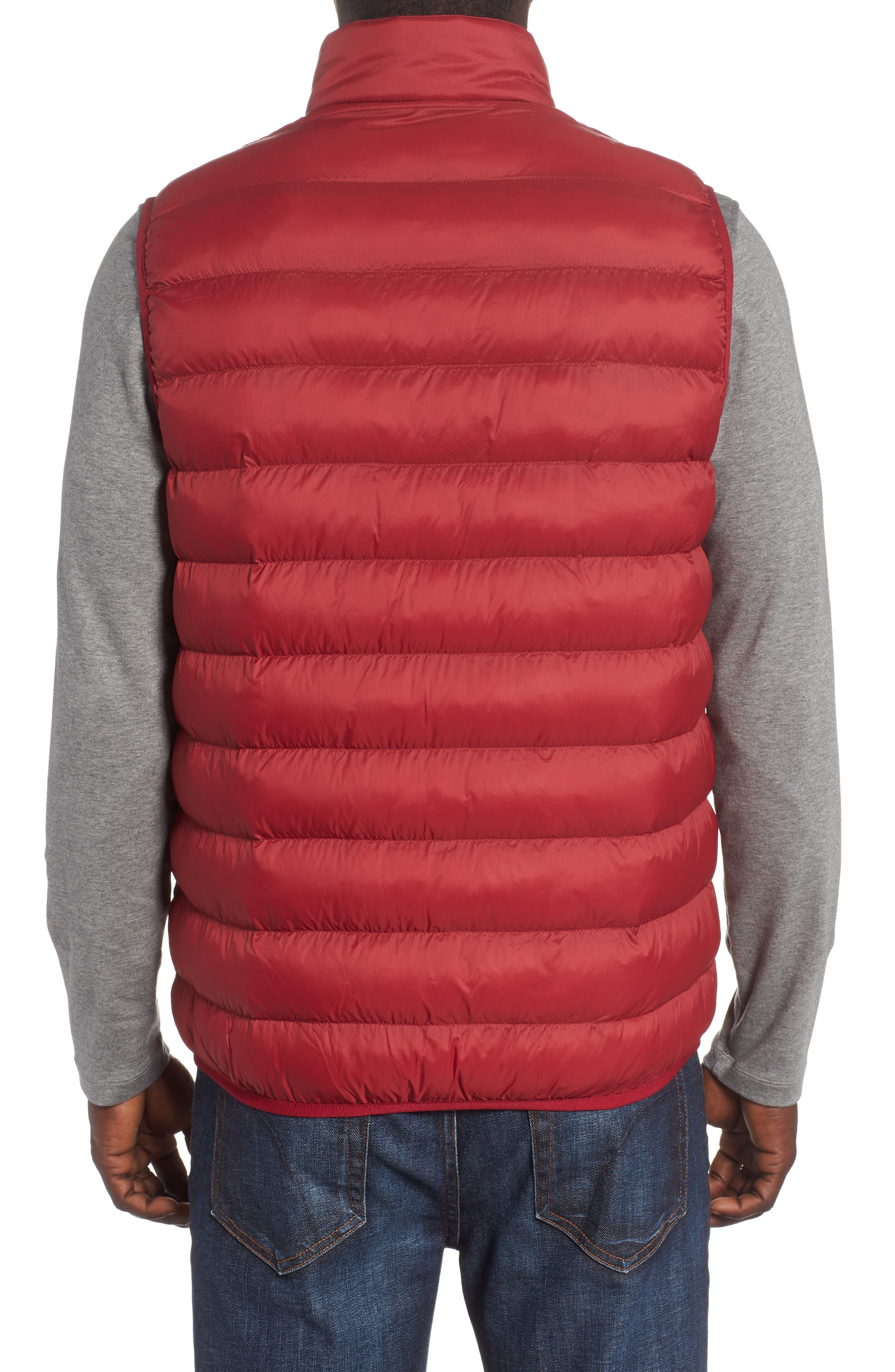 Askham Quilted Vest,                             Alternate thumbnail 2, color,                             Biking Red