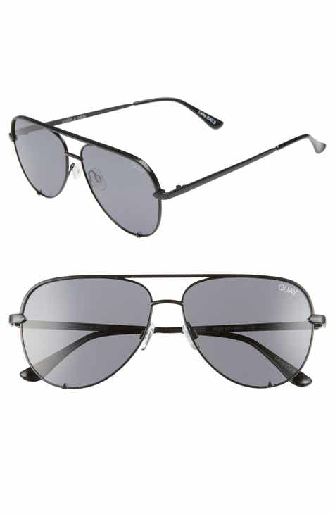 013cad01f5 Quay Australia x Desi Perkins High Key Mini 57mm Aviator Sunglasses