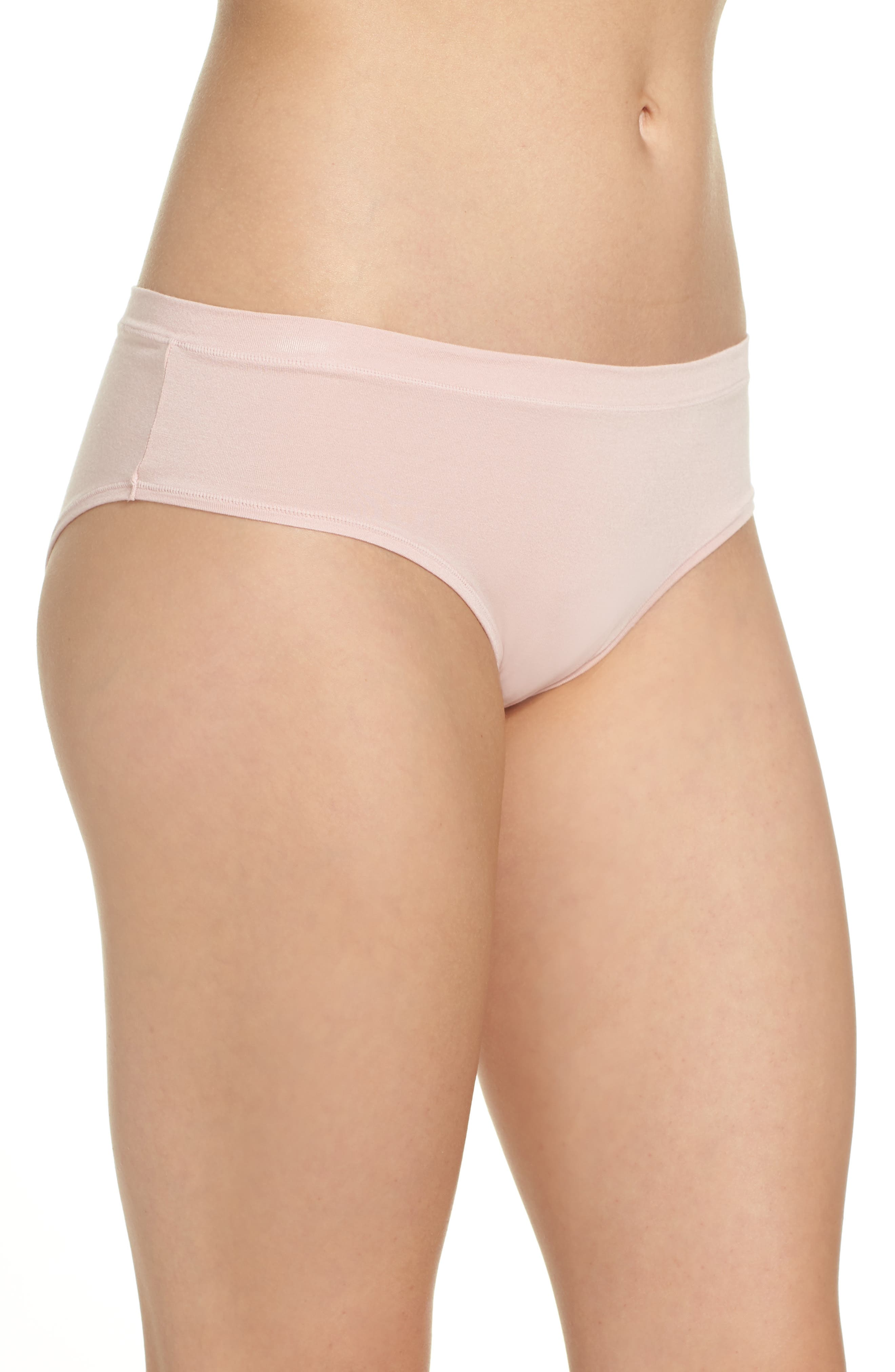 Hipster Briefs,                             Alternate thumbnail 3, color,                             Pink Silver