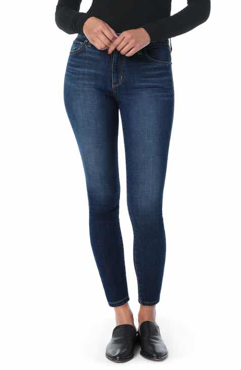 Joe's Hi Rise Honey Curvy Skinny Ankle Jeans (Joni) by JOES
