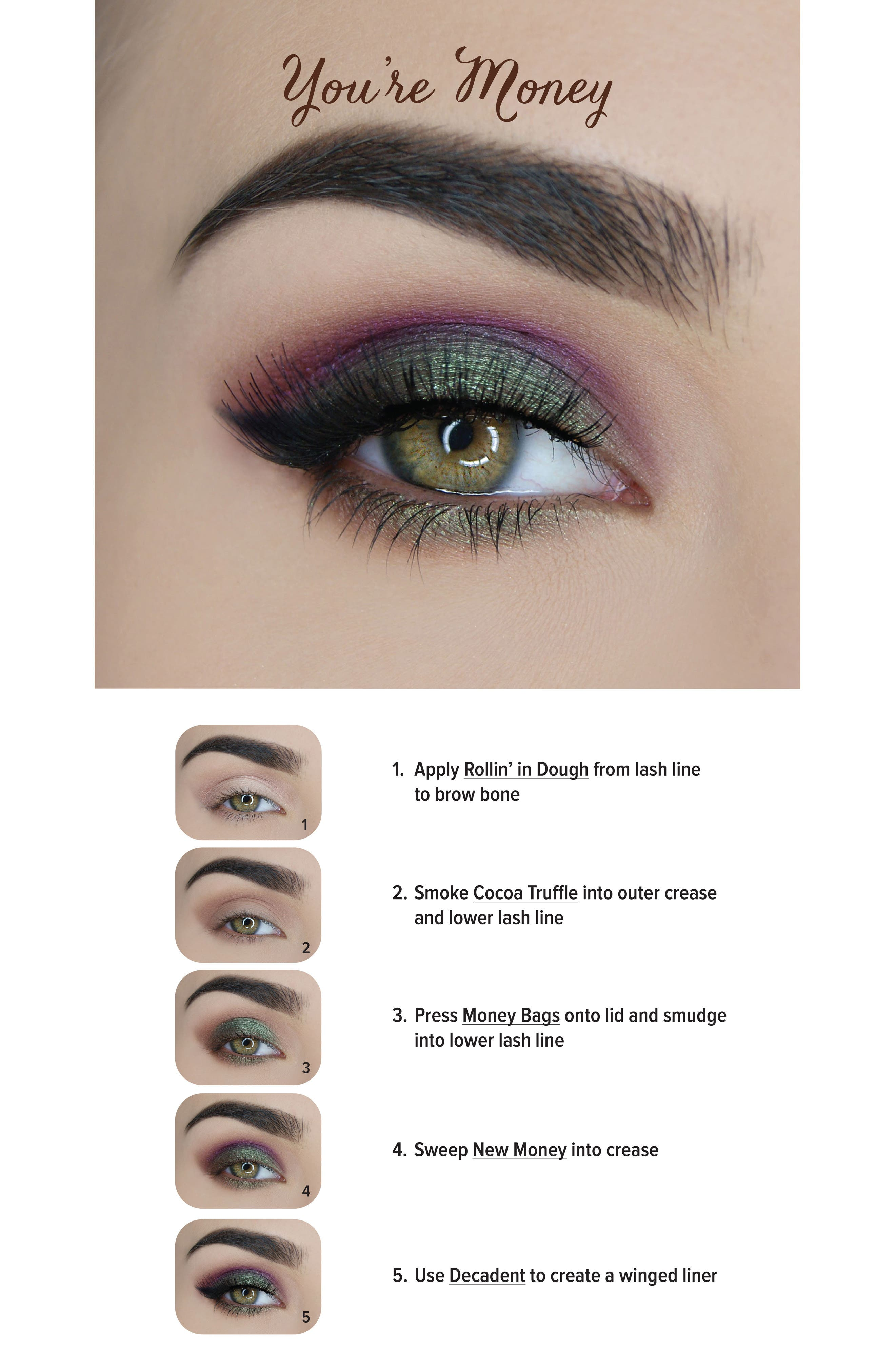Chocolate Gold Eyeshadow Palette,                             Alternate thumbnail 4, color,                             No Color