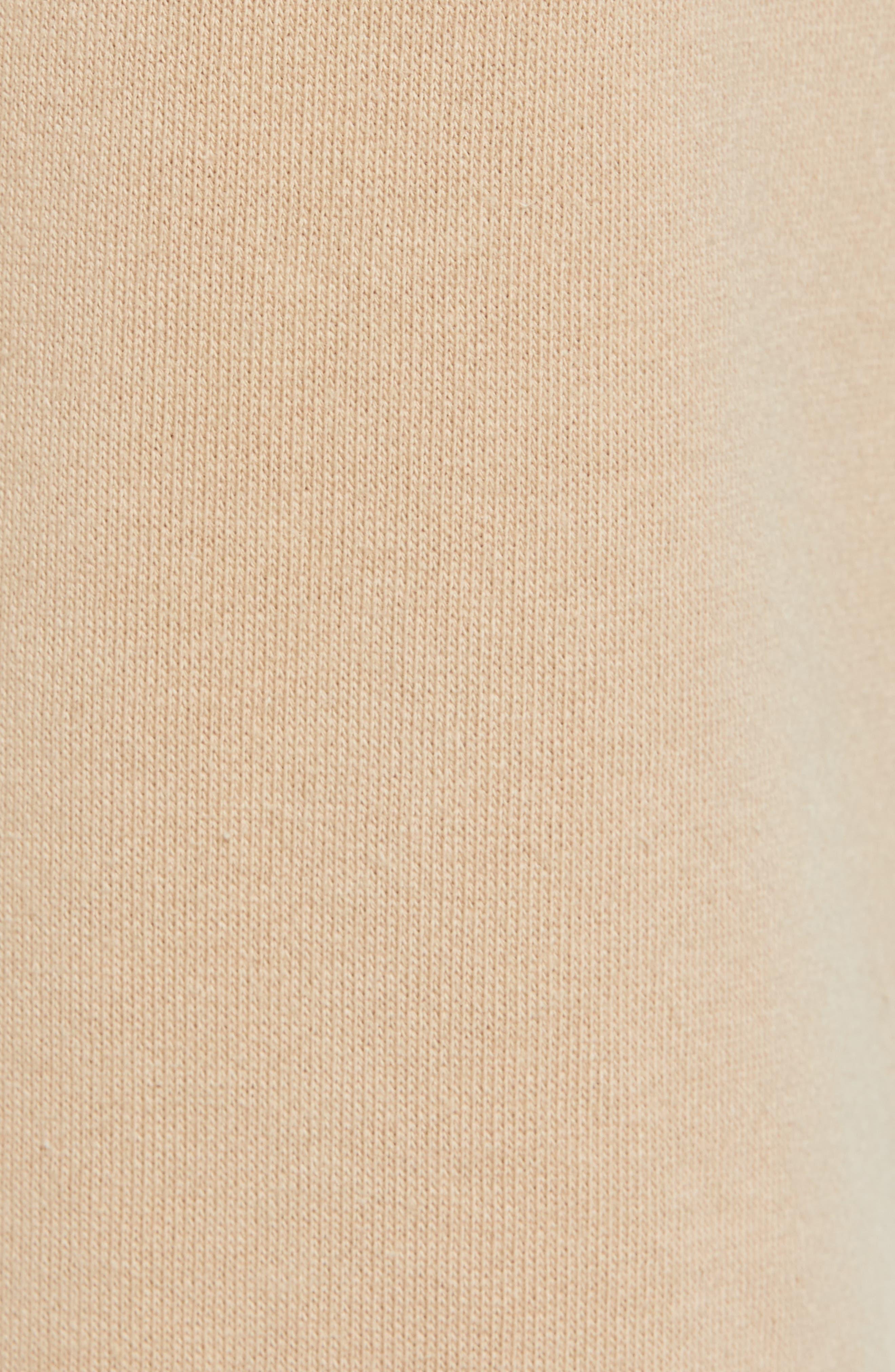 Terry Drawstring Shorts,                             Alternate thumbnail 6, color,                             Tan Safari