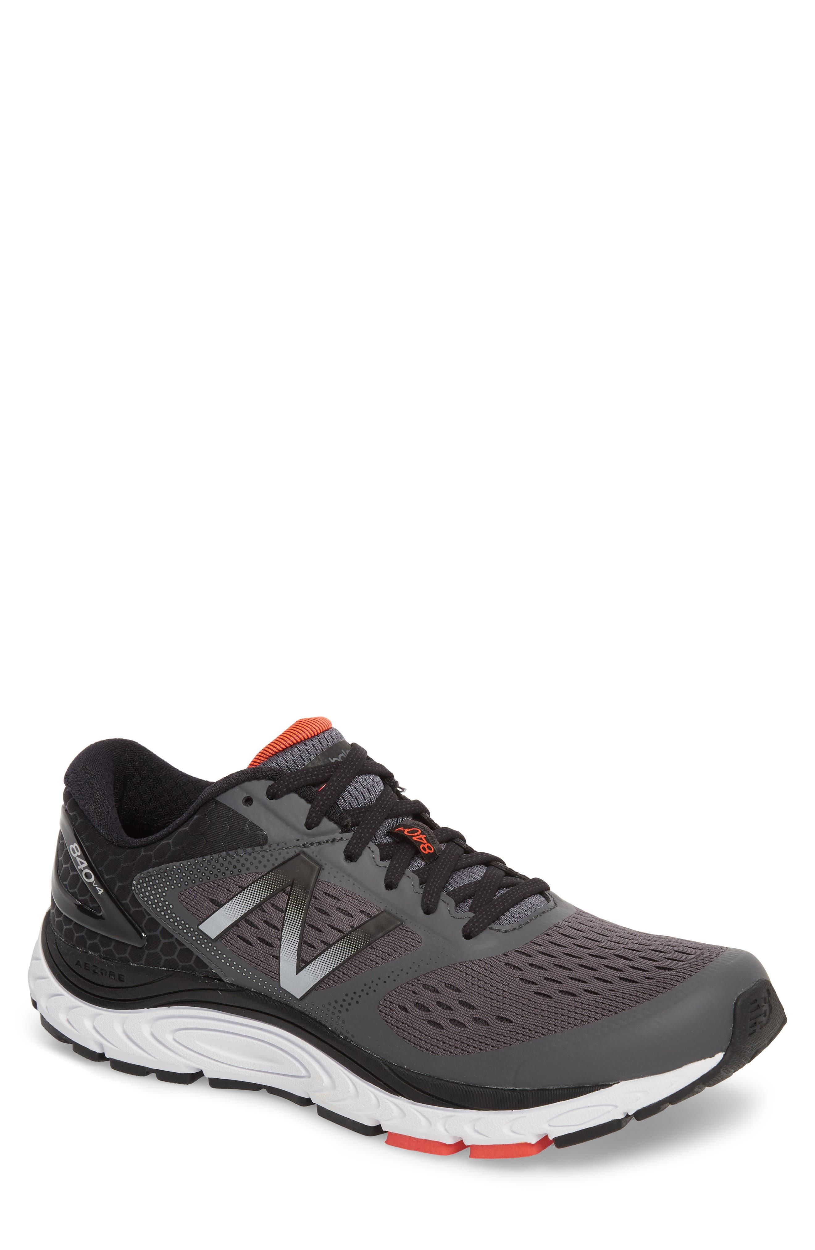 840v4 Running Shoe,                             Main thumbnail 1, color,                             Dark Grey