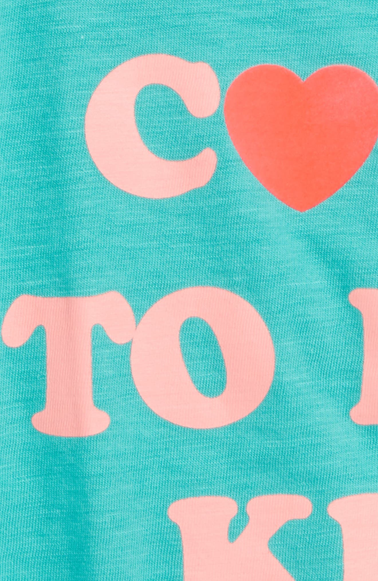 crewcuts by J. Crew Cool to Be Kind Graphic Tee,                             Alternate thumbnail 2, color,                             Emerald Sea