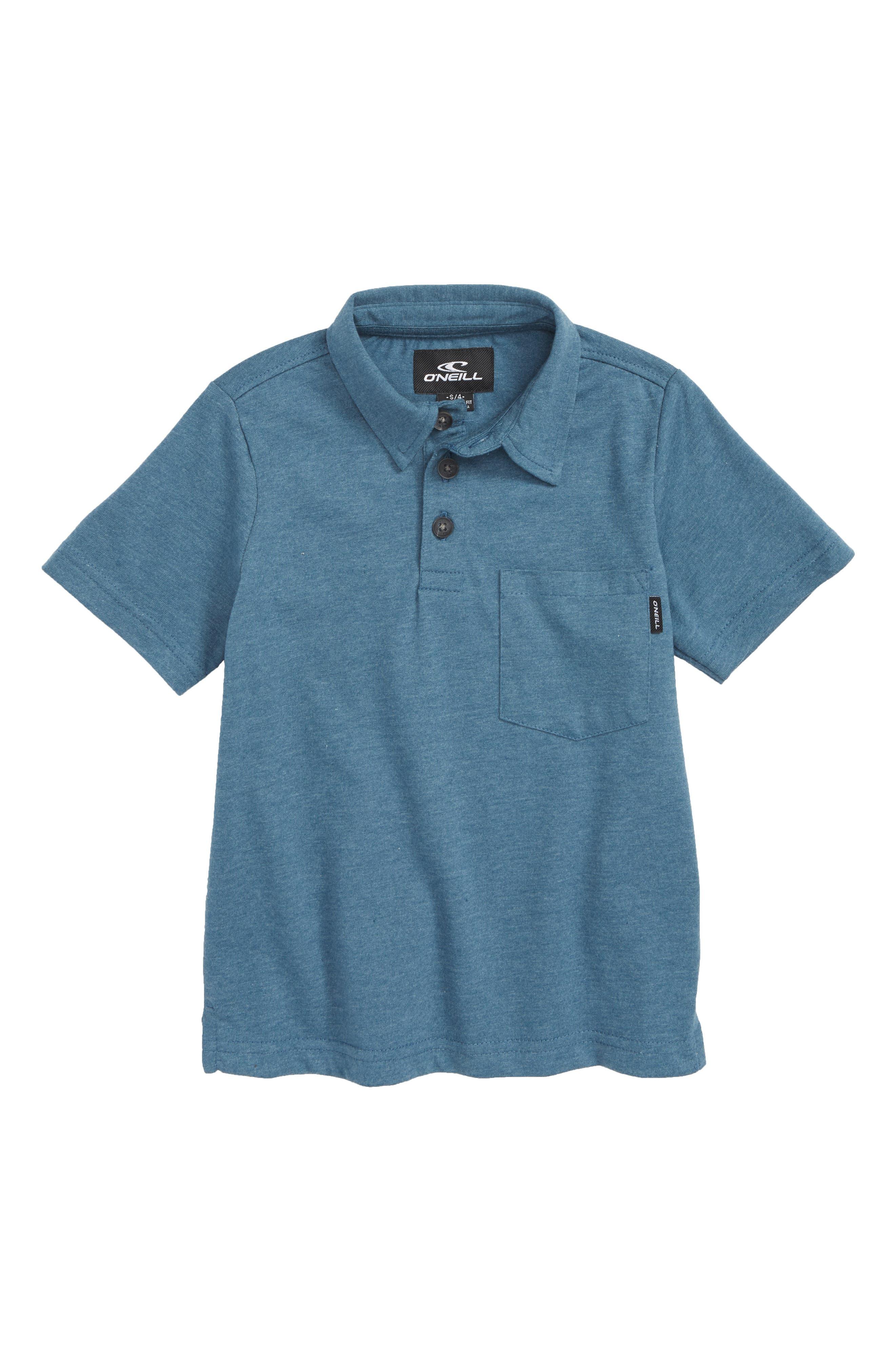 Fraser Pocket Polo,                         Main,                         color, Deep Teal