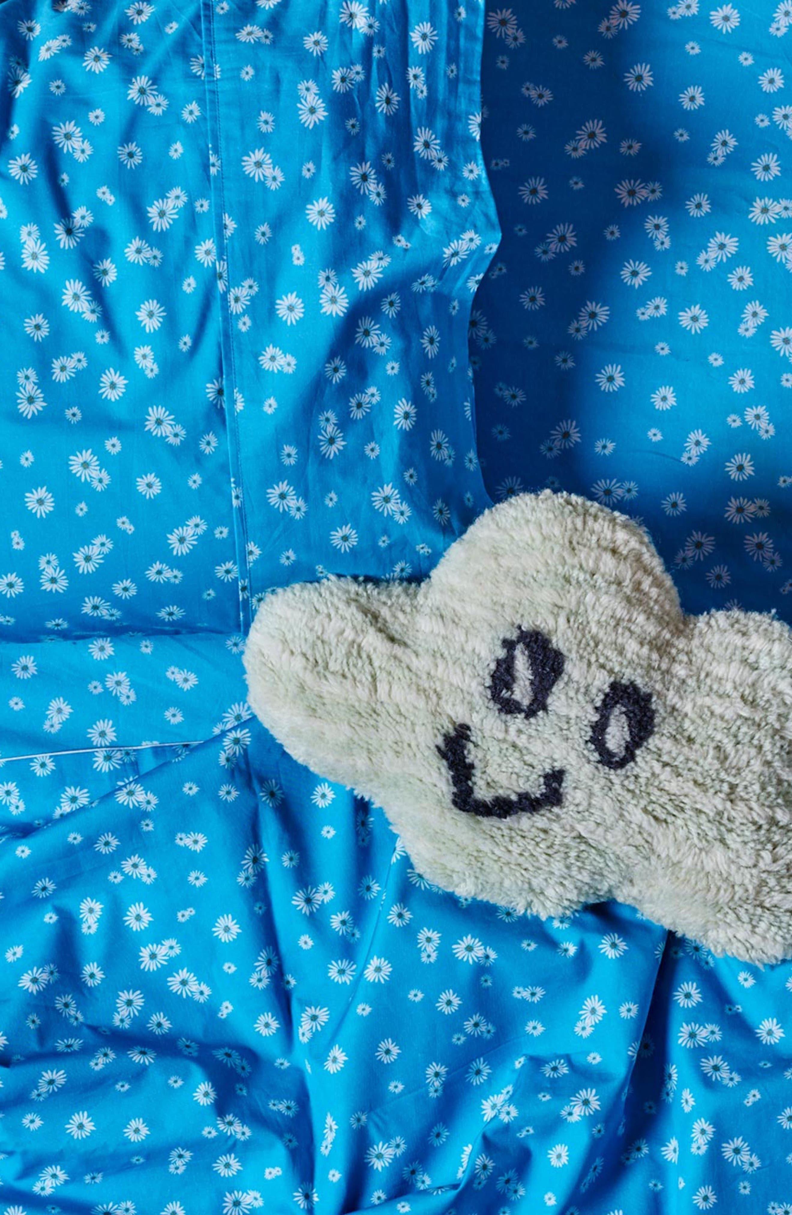 Lazy Daisy Cotton Sheet,                         Main,                         color, Multi