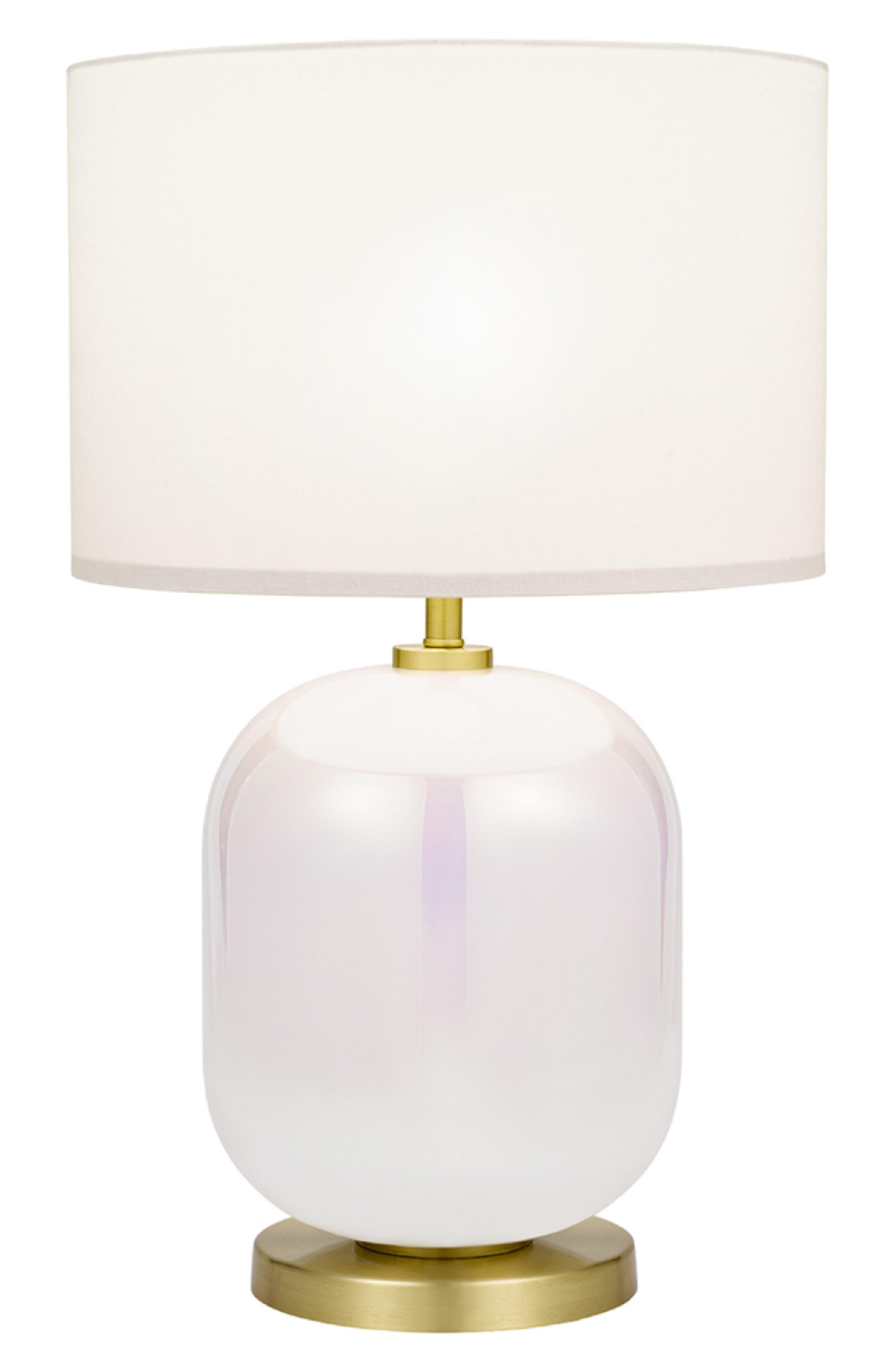 Iridescent Table Lamp,                             Main thumbnail 1, color,                             Iridescent