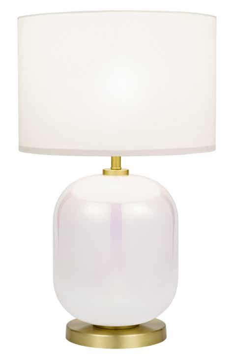 Lighting lamps fans nordstrom cupcakes and cashmere iridescent table lamp greentooth Gallery
