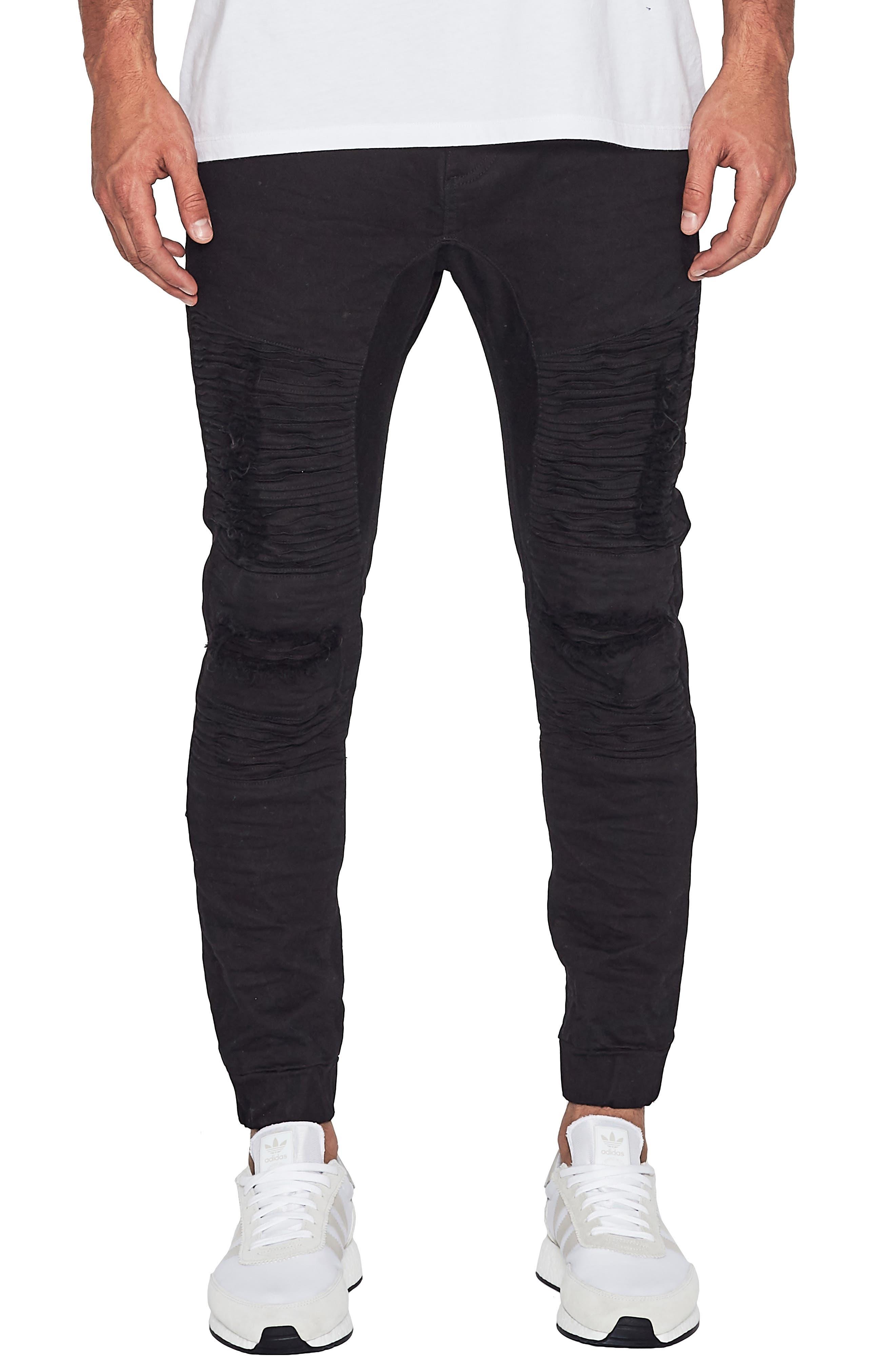 Hellcat Slim Fit Pants,                         Main,                         color, Jet Black