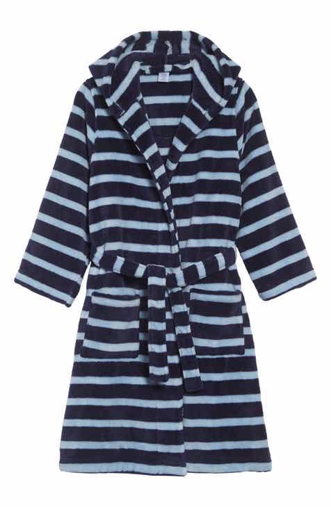 Tucker + Tate Hooded Plush Robe (Toddler Boys 5854b9371