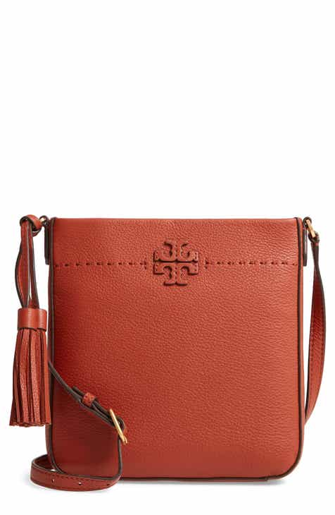 32c7ab03713 Tory Burch McGraw Leather Crossbody Tote