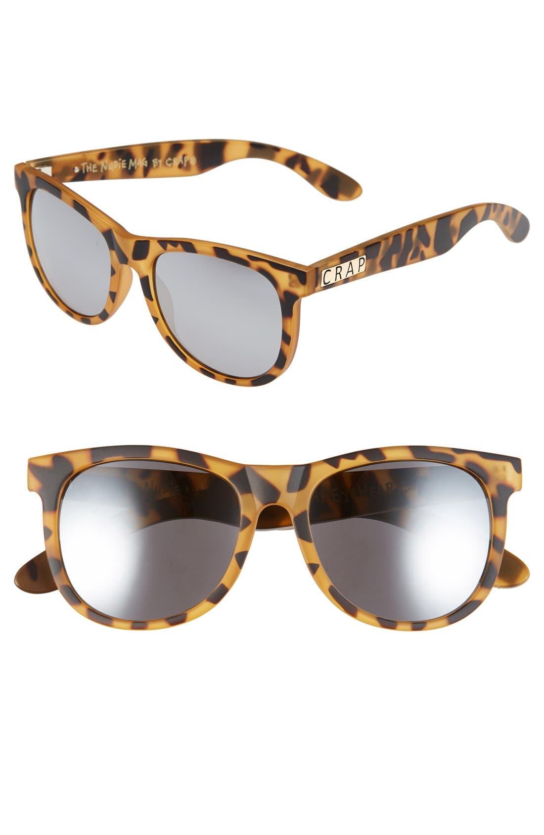 CRAP Eyewear 'Nudie Mag' 55mm Sunglasses