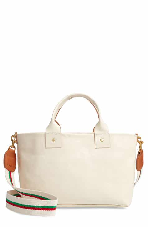 Clare V Rustic Bruno Leather Crossbody Bag