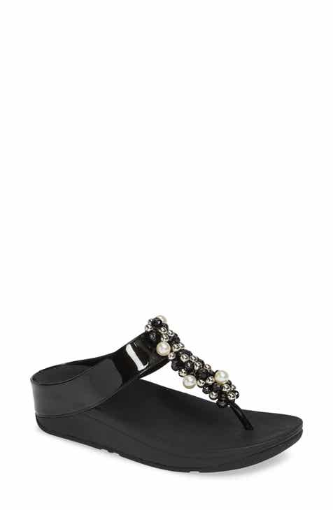02243fea6feb0 FitFlop Deco Embellished Flip Flop (Women)