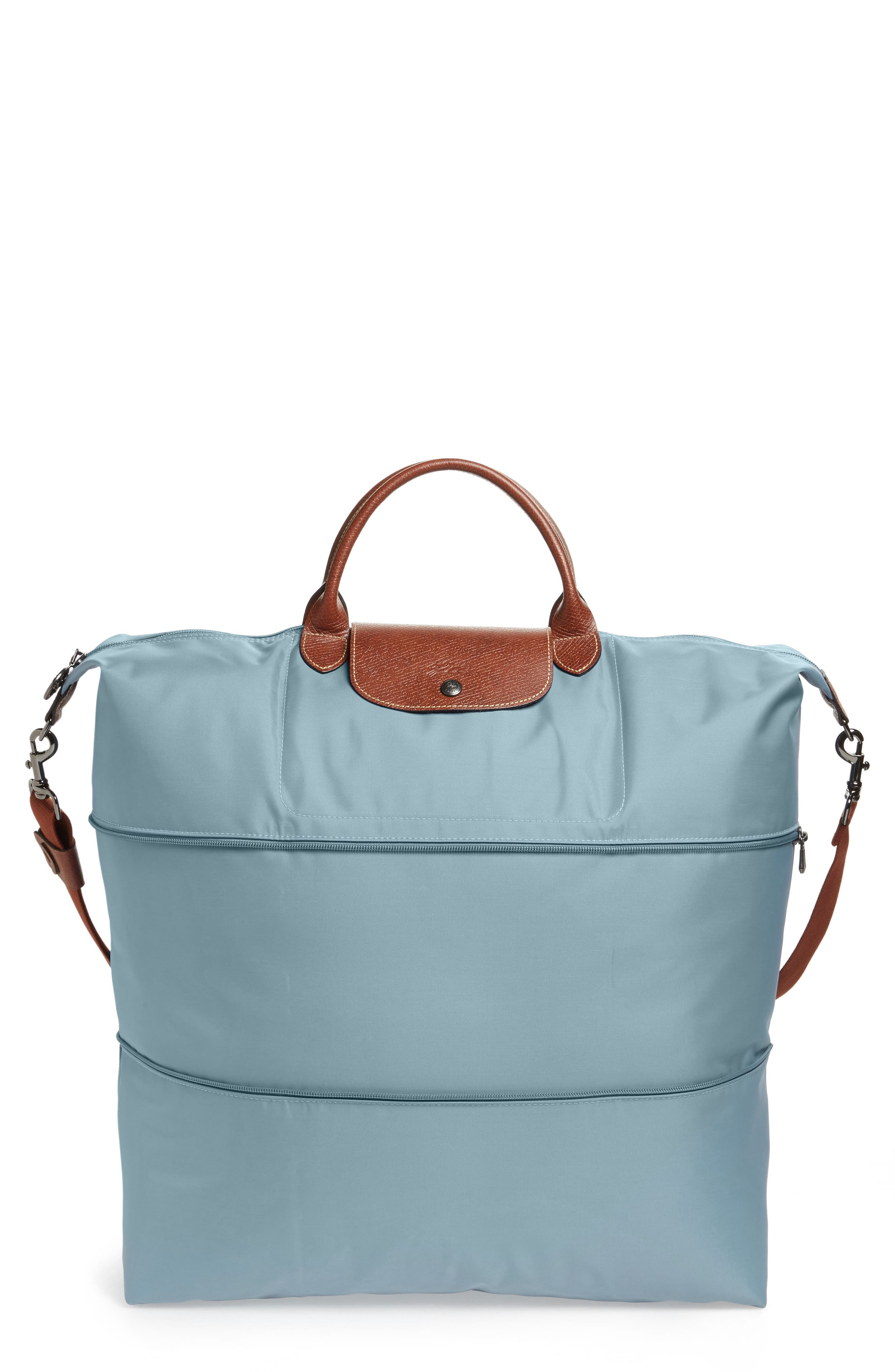 Le Pliage 21-Inch Expandable Travel Bag,                             Main thumbnail 1, color,                             Artico