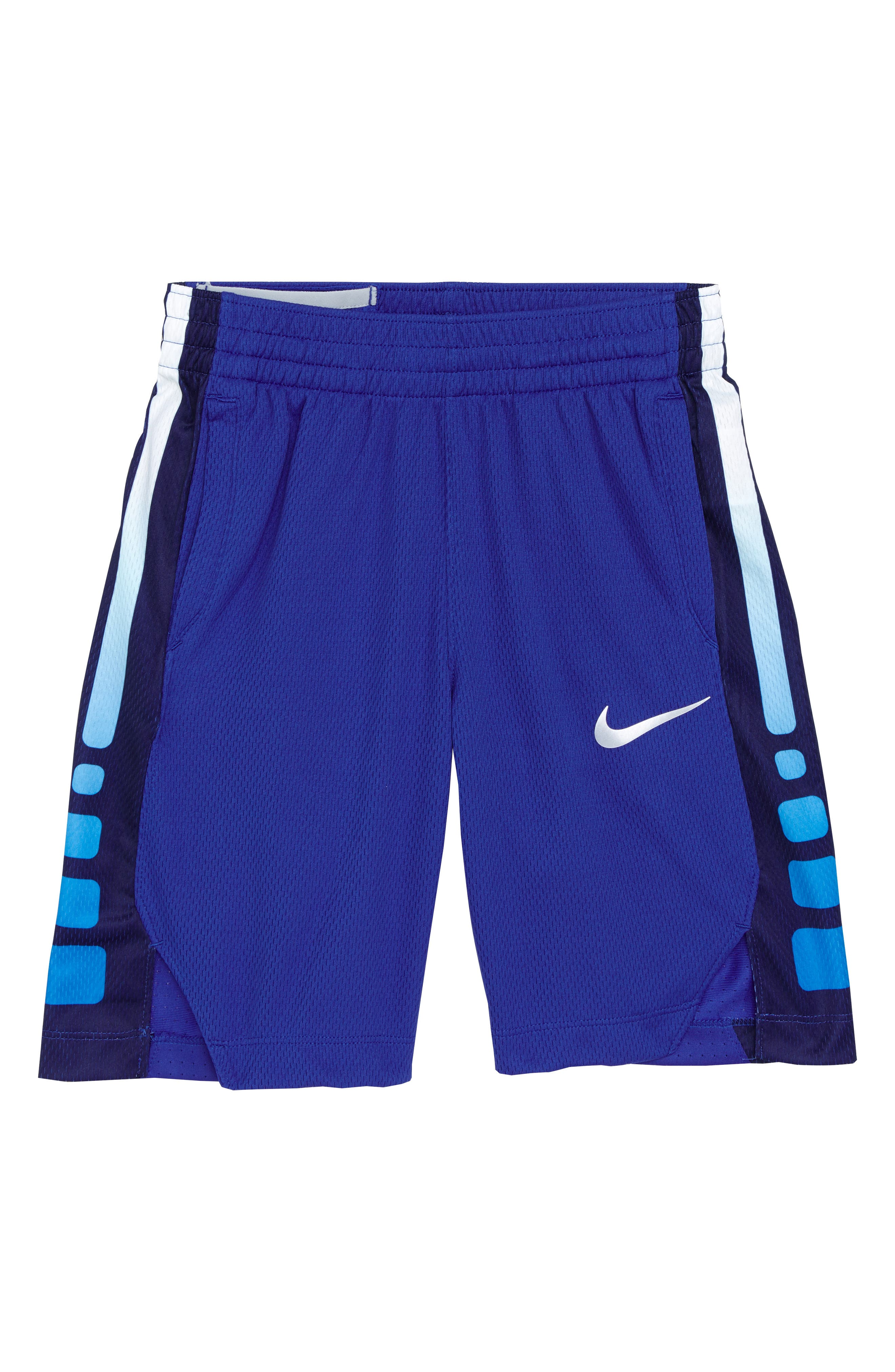 Dry Elite Basketball Shorts,                             Main thumbnail 1, color,                             Game Royal/ White