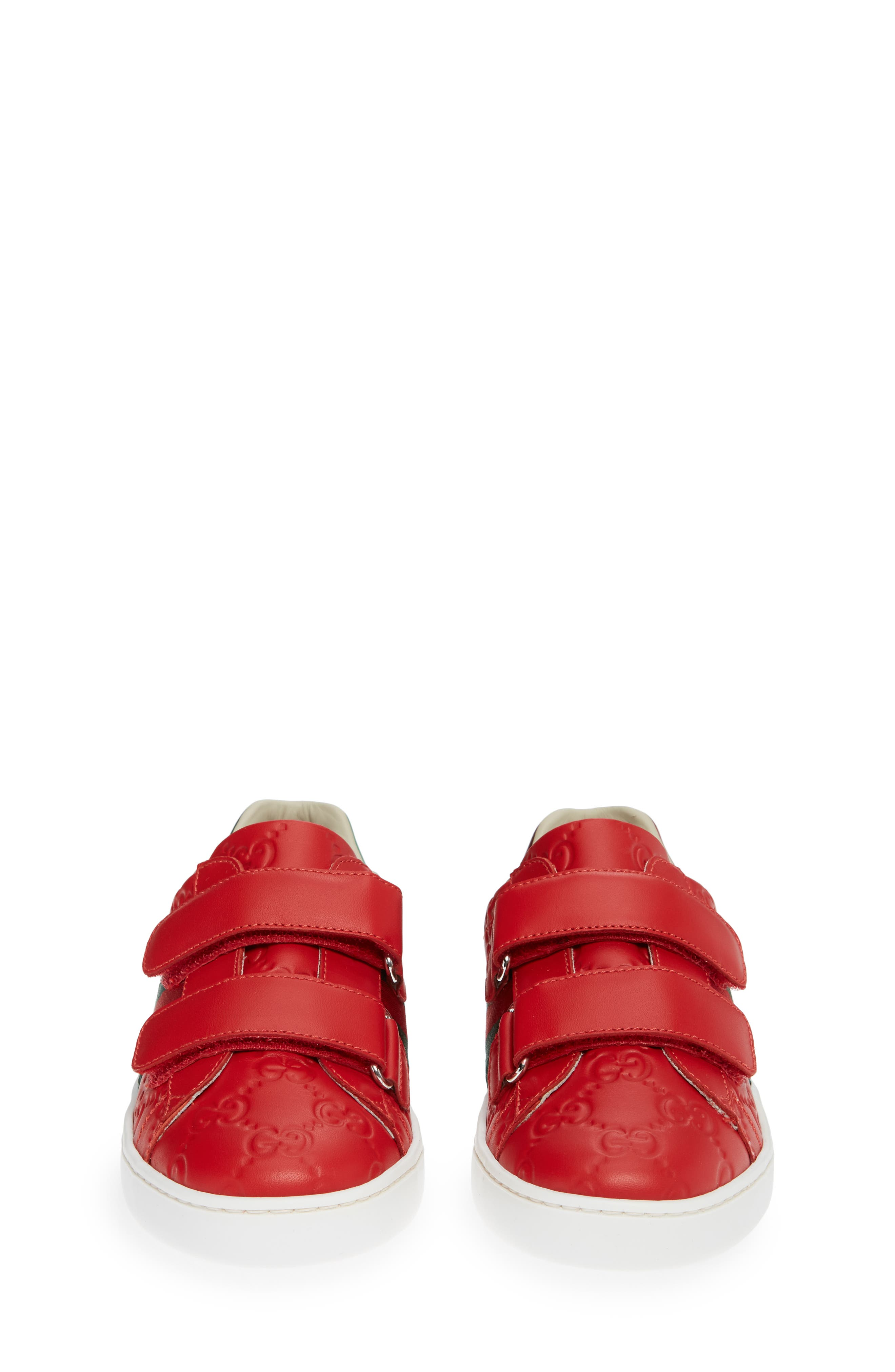 New Ace Sneaker,                             Alternate thumbnail 3, color,                             Red