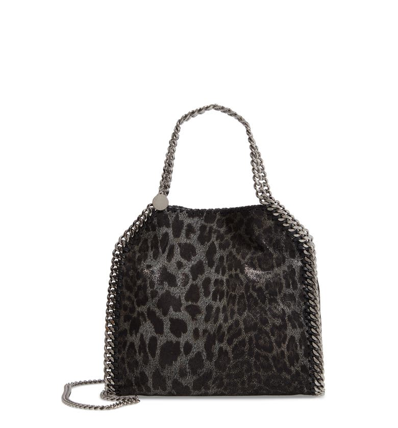 Stella McCartney Mini Falabella Leopard Print Faux Leather Tote | Nordstrom
