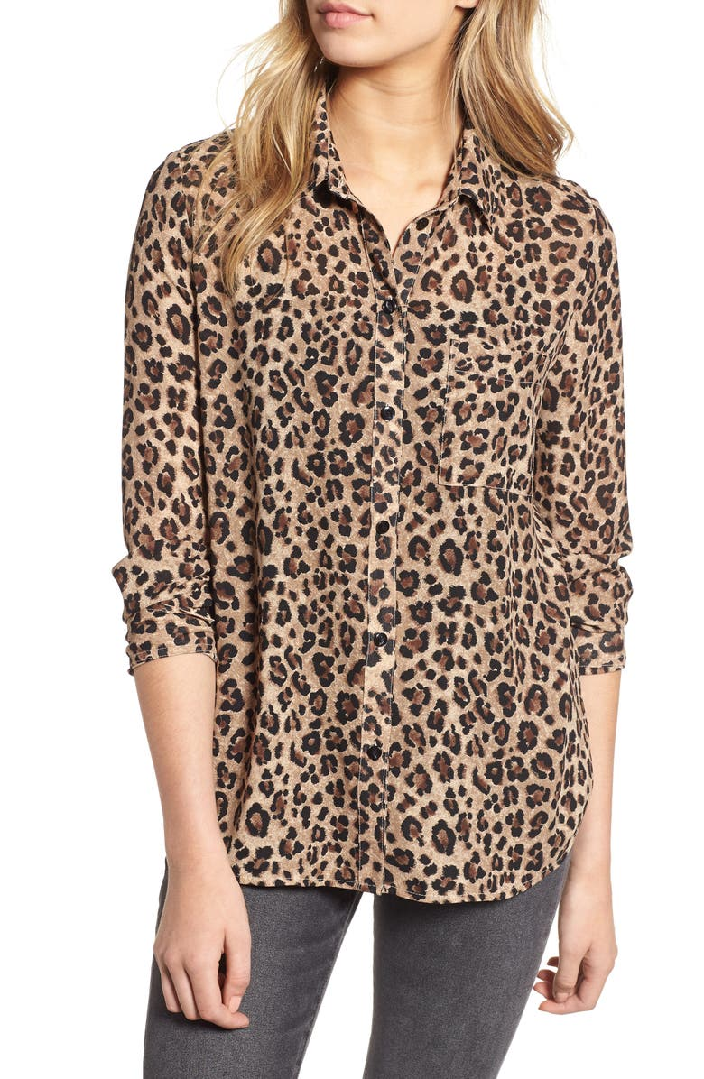 Leopard Print Shirt | Nordstrom