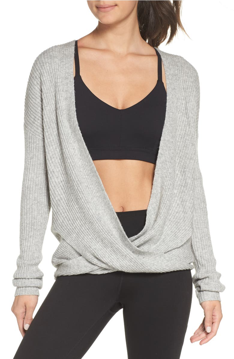 Zella Wrap Sweater | Nordstrom