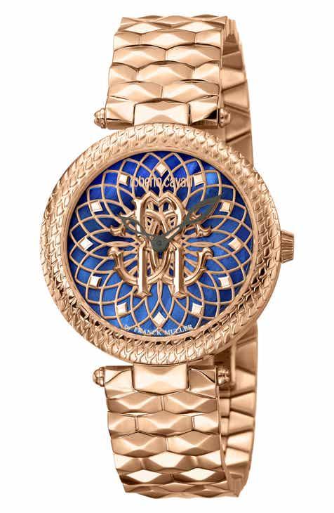 39e053923682b Roberto Cavalli by Franck Muller Costellato Bracelet Watch