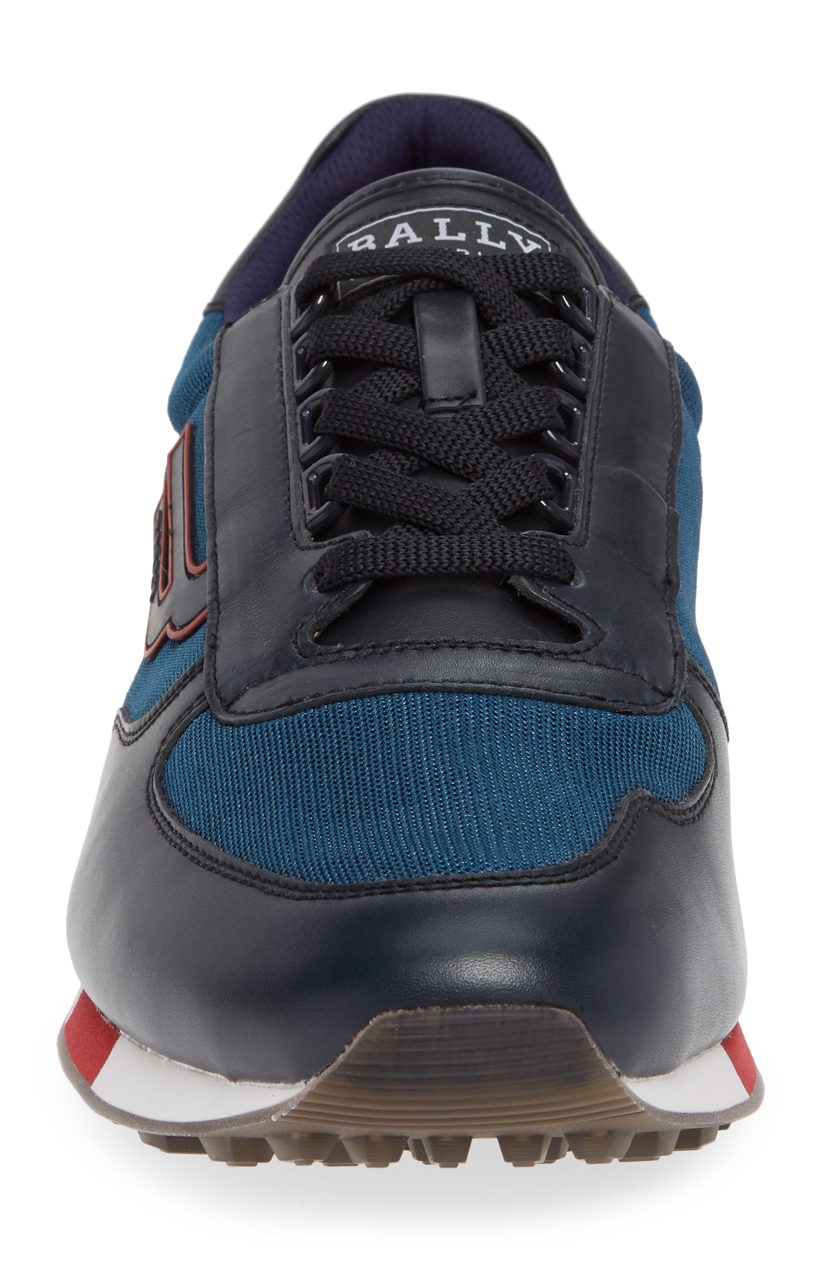 Gavino Low Top Sneaker,                             Alternate thumbnail 3, color,                             Blue