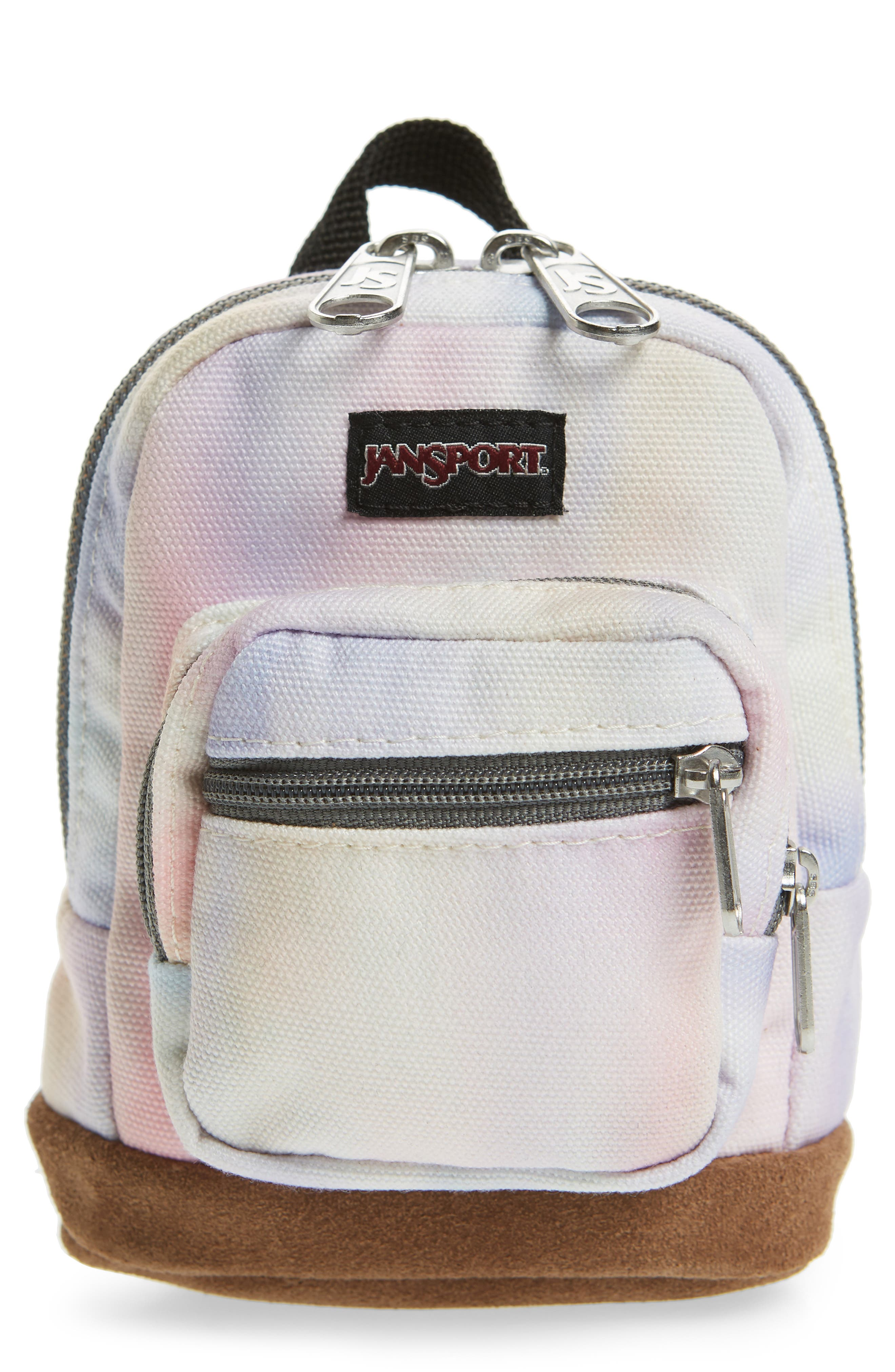 JANSPORT RIGHT POUCH MINI BACKPACK - PINK