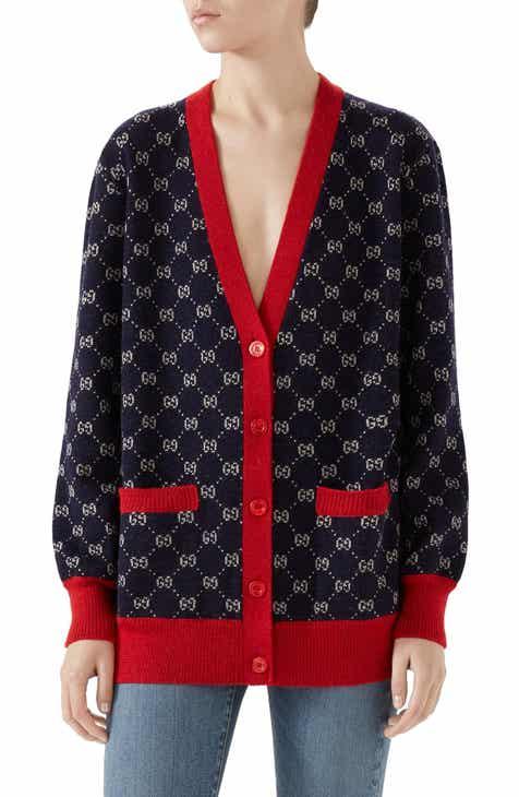 b53a95b67b5c8 Women s Gucci Cardigan Sweaters