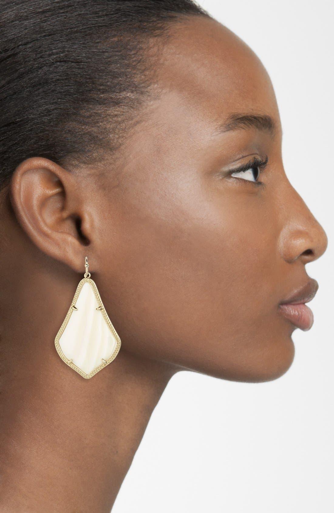 Alternate Image 2  - Kendra Scott 'Alexandra' Large Drop Earrings