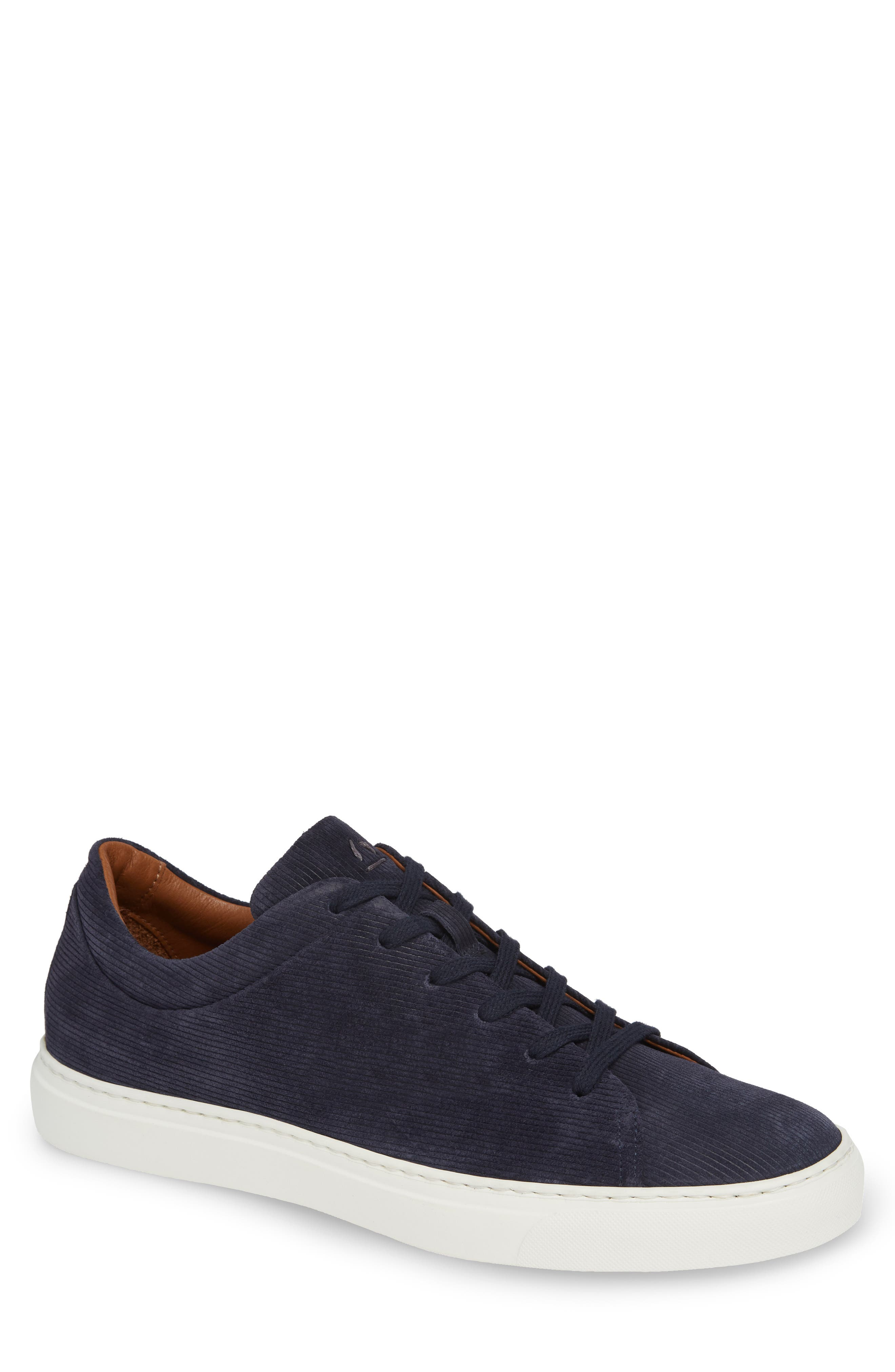 Alaric Sneaker,                             Main thumbnail 1, color,                             Navy Suede