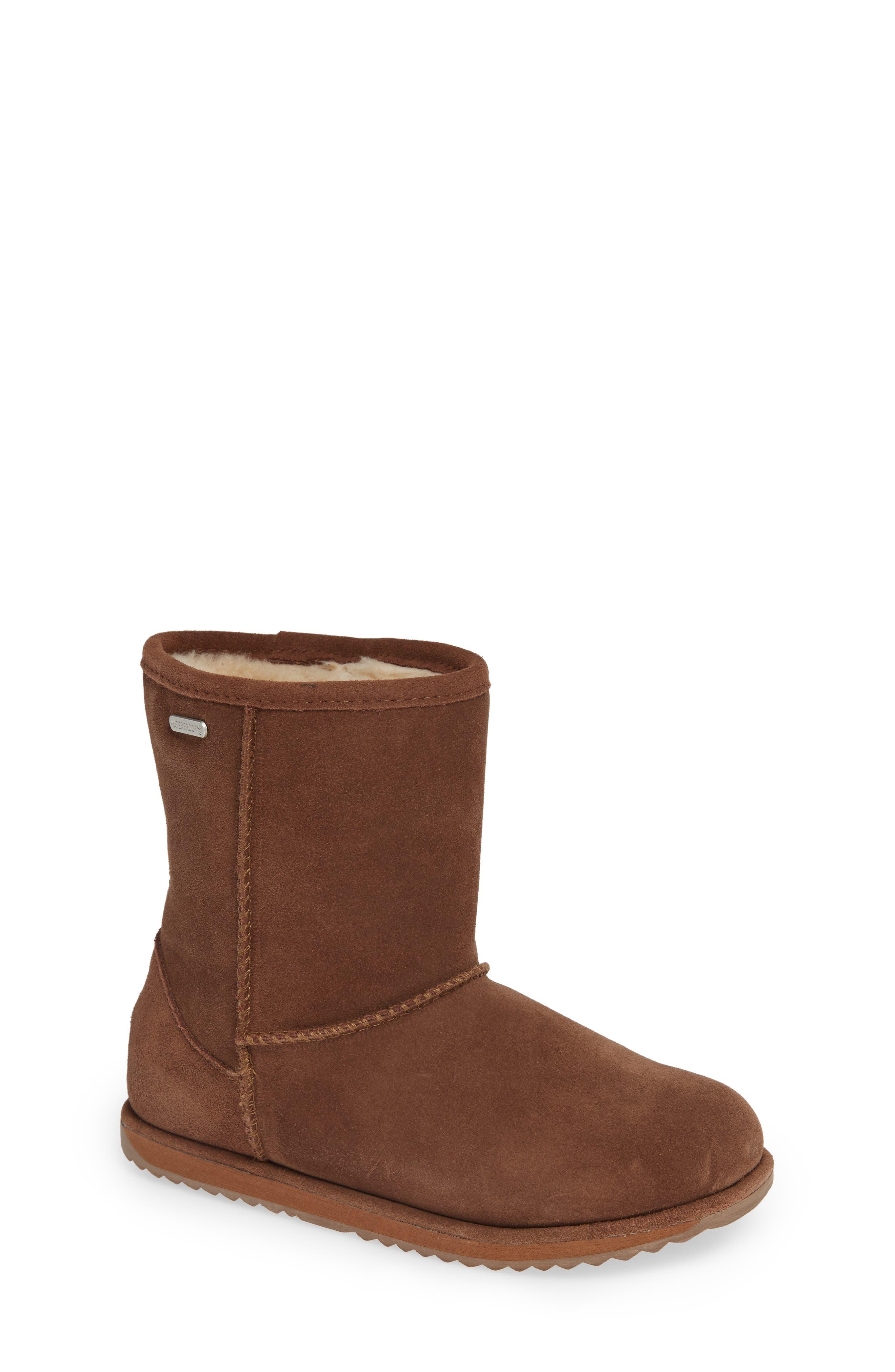 Brumby Waterproof Boot,                         Main,                         color, Oak Brown
