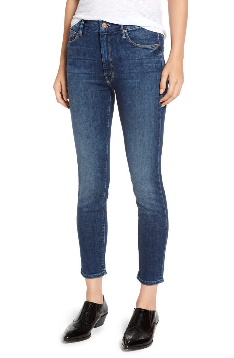 The Looker High Waist Crop Jeans
