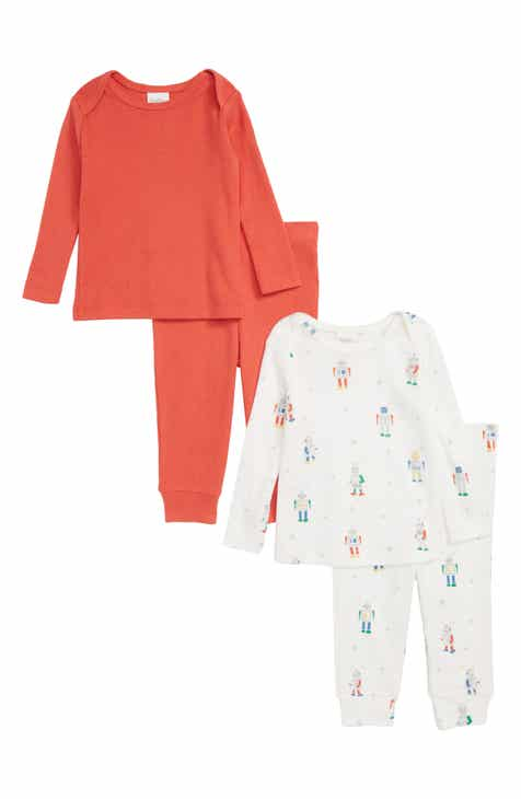 6ffc55e03363 Mini Boden 2-Pack Pointelle Play Set (Baby Boys)