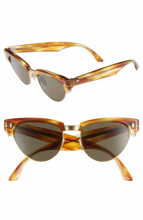 df11e6b16a8 CELINE 51mm Modified Cat Eye Sunglasses