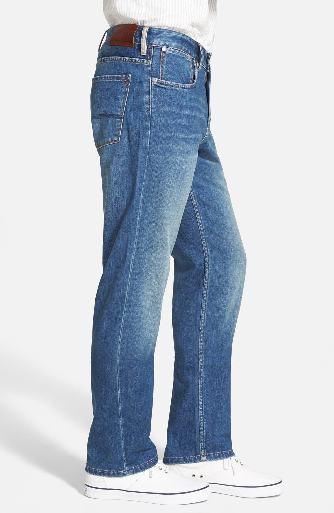 Alternate Image 3  - Tommy Bahama Denim 'Cooper' Straight Leg Jeans (Blue Overdye)