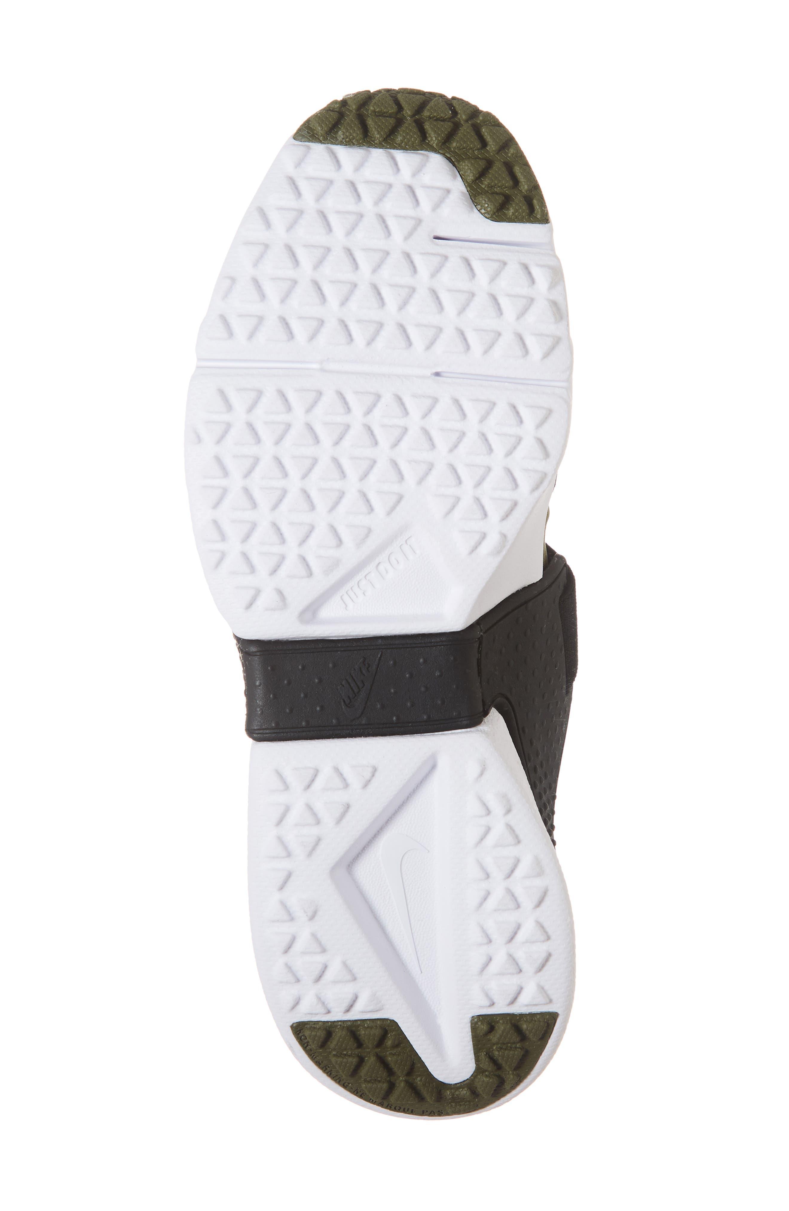 Huarache Extreme Sneaker,                             Alternate thumbnail 6, color,                             Olive/ Wolf Grey/ Black/ White