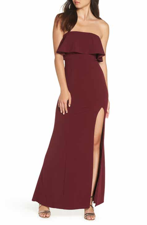 93233c18c2 Lulus Off the Shoulder Maxi Gown