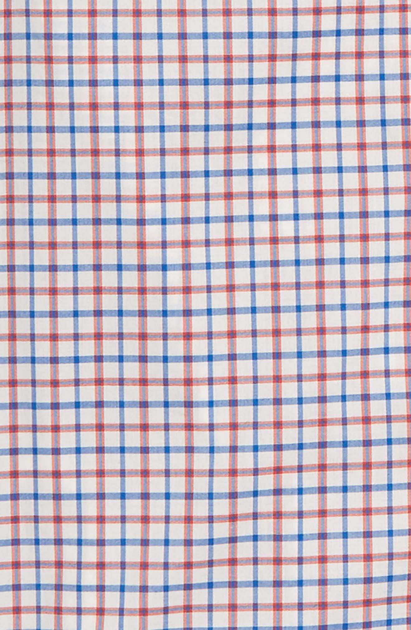 Ludlow Stripe Dress Shirt,                             Alternate thumbnail 2, color,                             Ivory Poppy