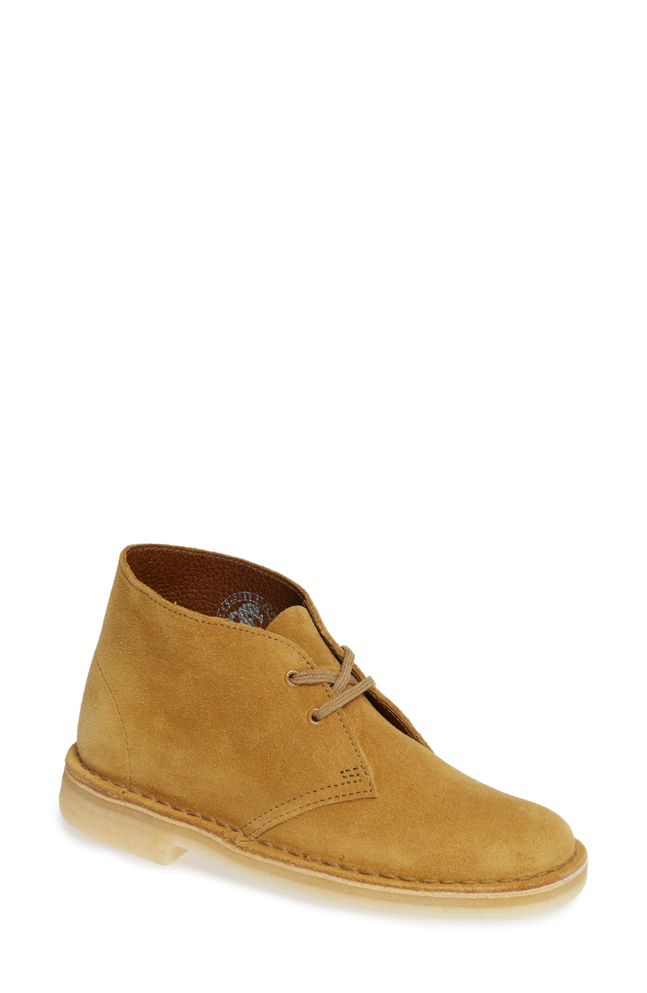 Desert Bootie,                         Main,                         color, Oak Suede