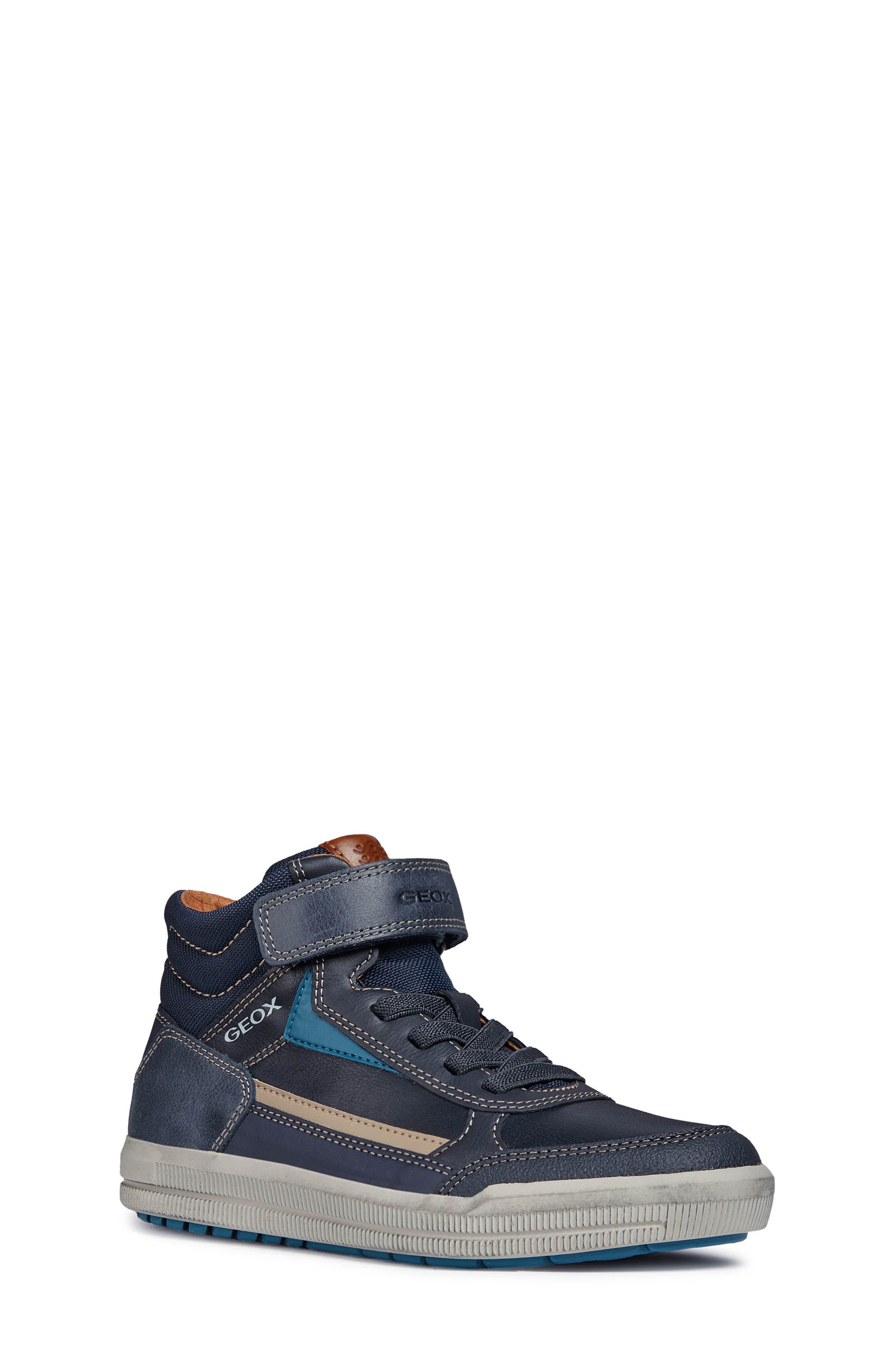 Arzach Mid Top Sneaker,                             Main thumbnail 1, color,                             Navy/Petrol