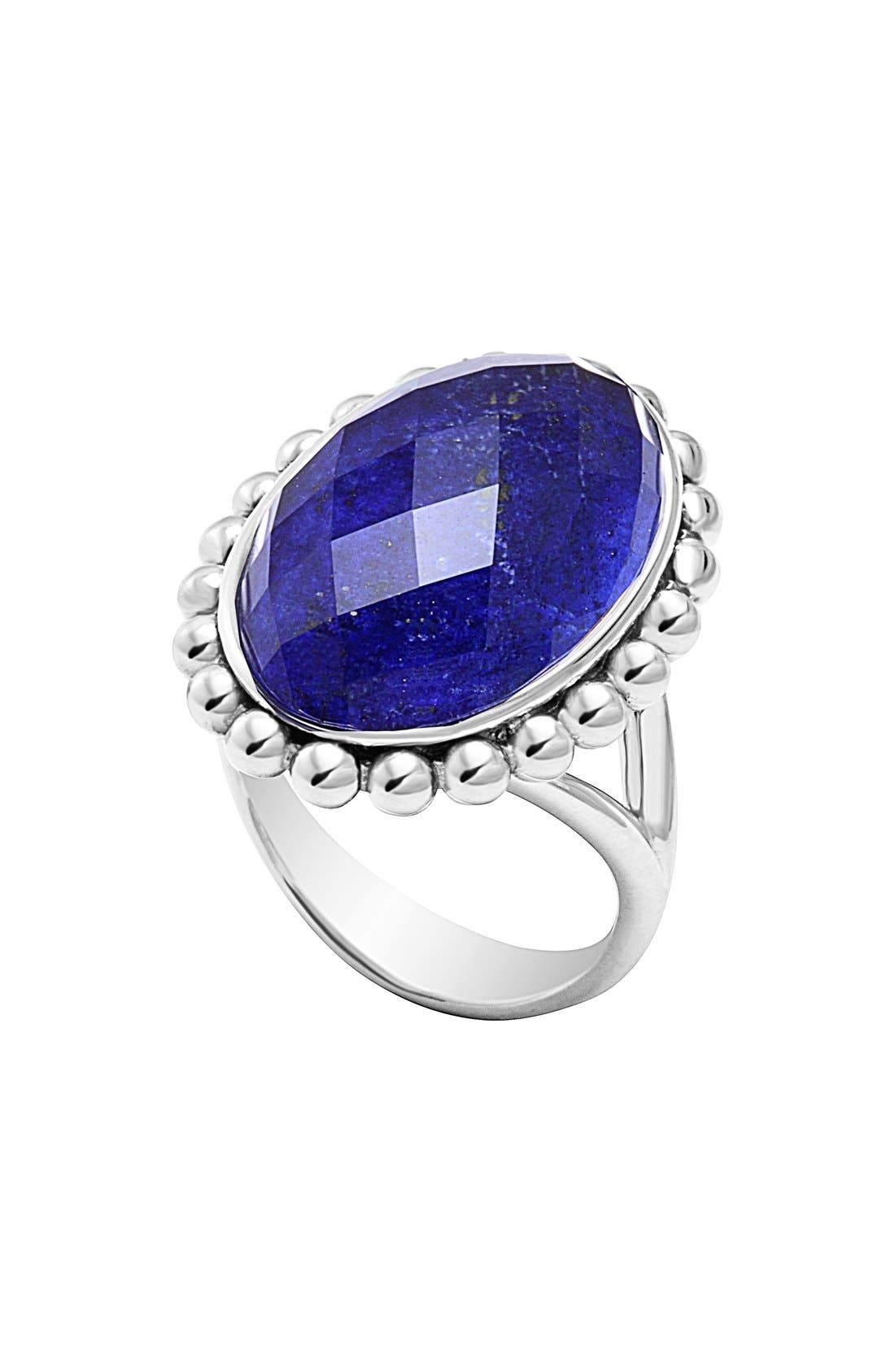 Alternate Image 1 Selected - LAGOS 'Maya' Oval Doublet Ring