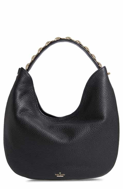 Kate Spade New York Murray Street Heather Pebbled Leather Hobo Bag